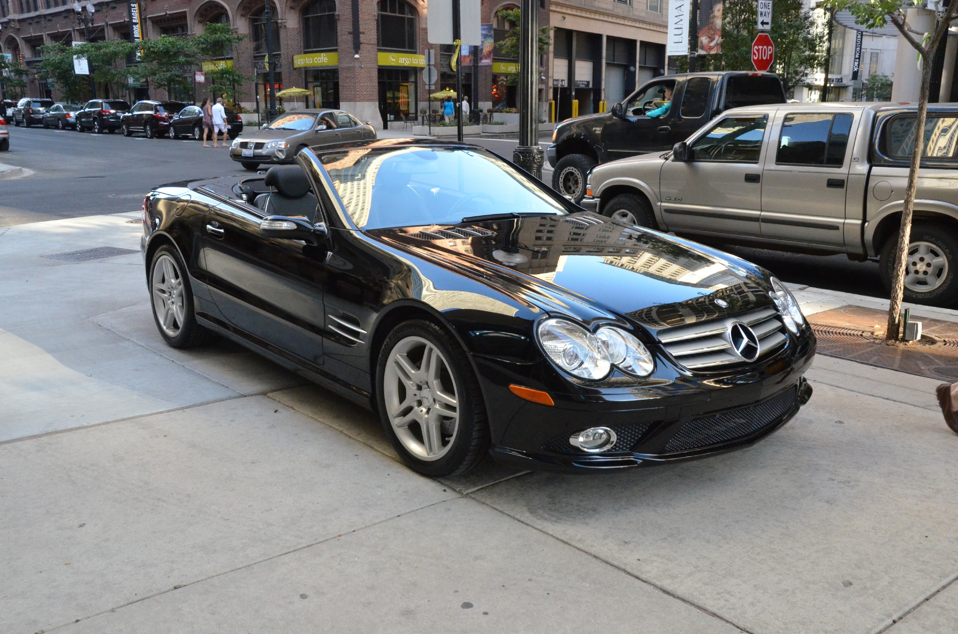 2007 mercedes benz sl class sl550 stock gc1733a for sale near chicago il il mercedes benz. Black Bedroom Furniture Sets. Home Design Ideas