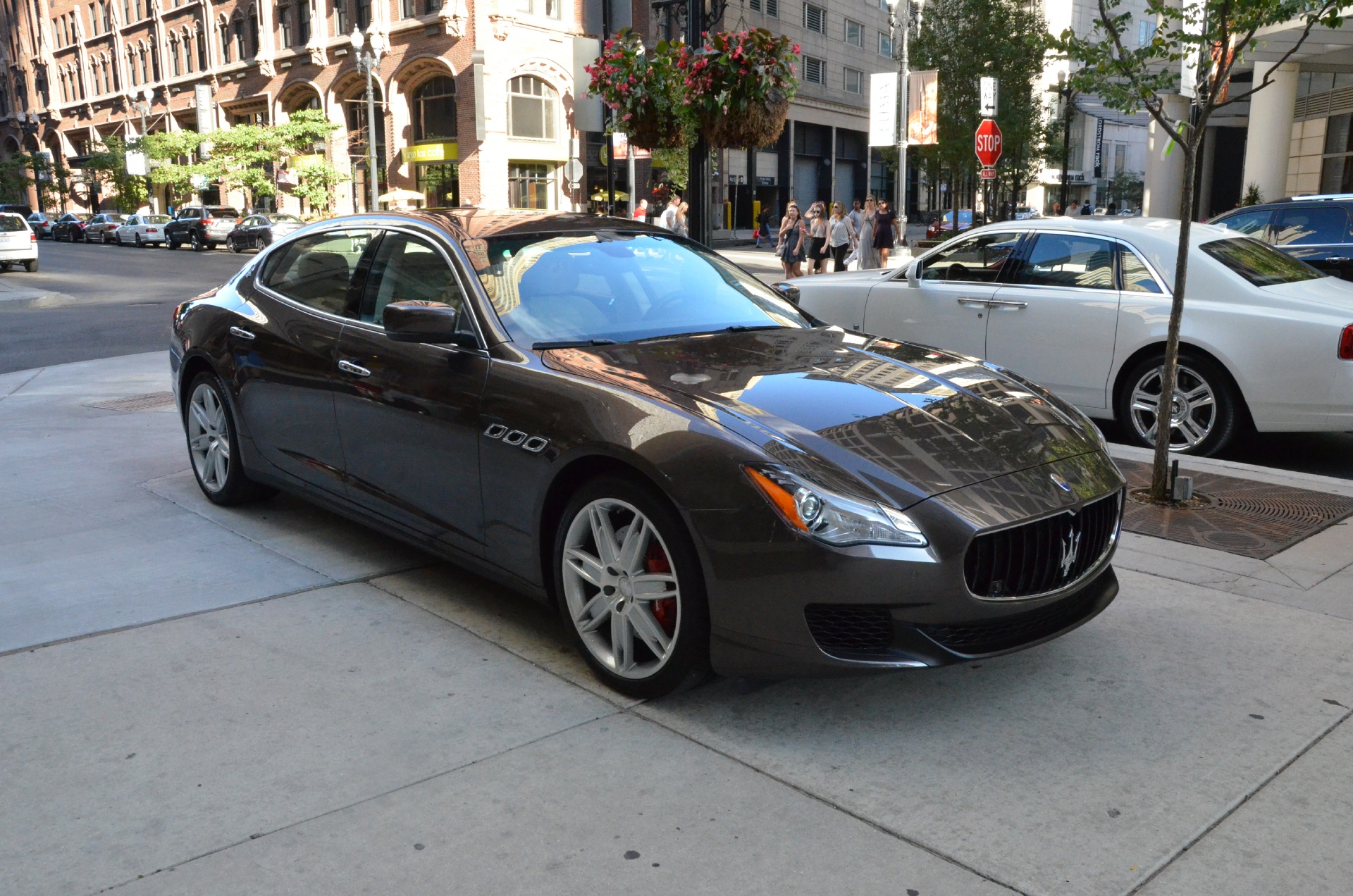 2014 maserati quattroporte sq4 s q4 stock gc1637a for sale near chicago il il maserati dealer. Black Bedroom Furniture Sets. Home Design Ideas