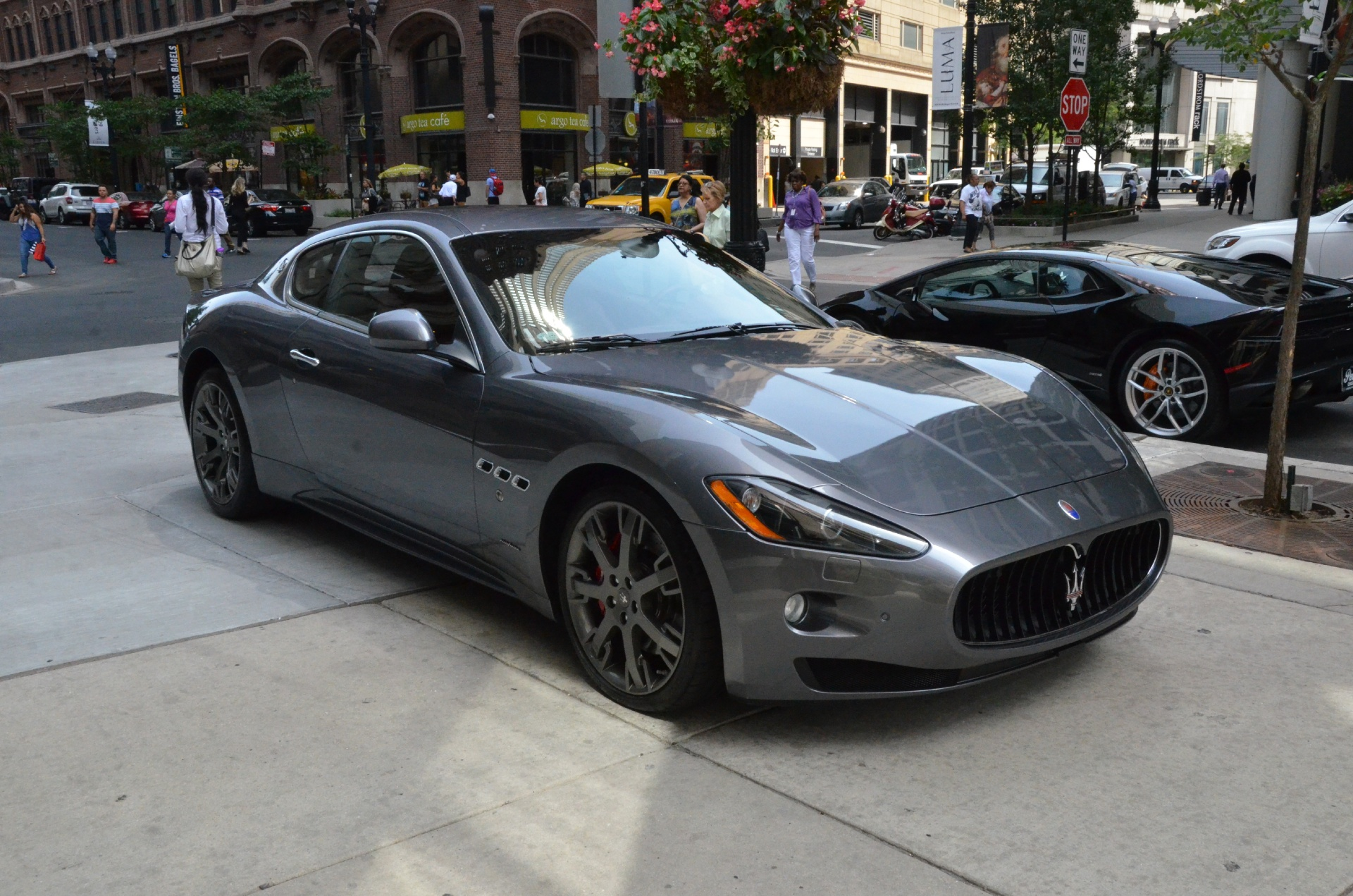 2009 maserati granturismo s stock l228b for sale near chicago il il maserati dealer. Black Bedroom Furniture Sets. Home Design Ideas