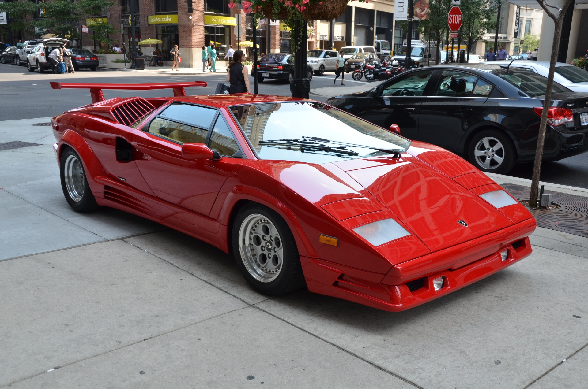 1989 lamborghini countach 25th anniversary edition stock gc1753 for sale near chicago il il. Black Bedroom Furniture Sets. Home Design Ideas