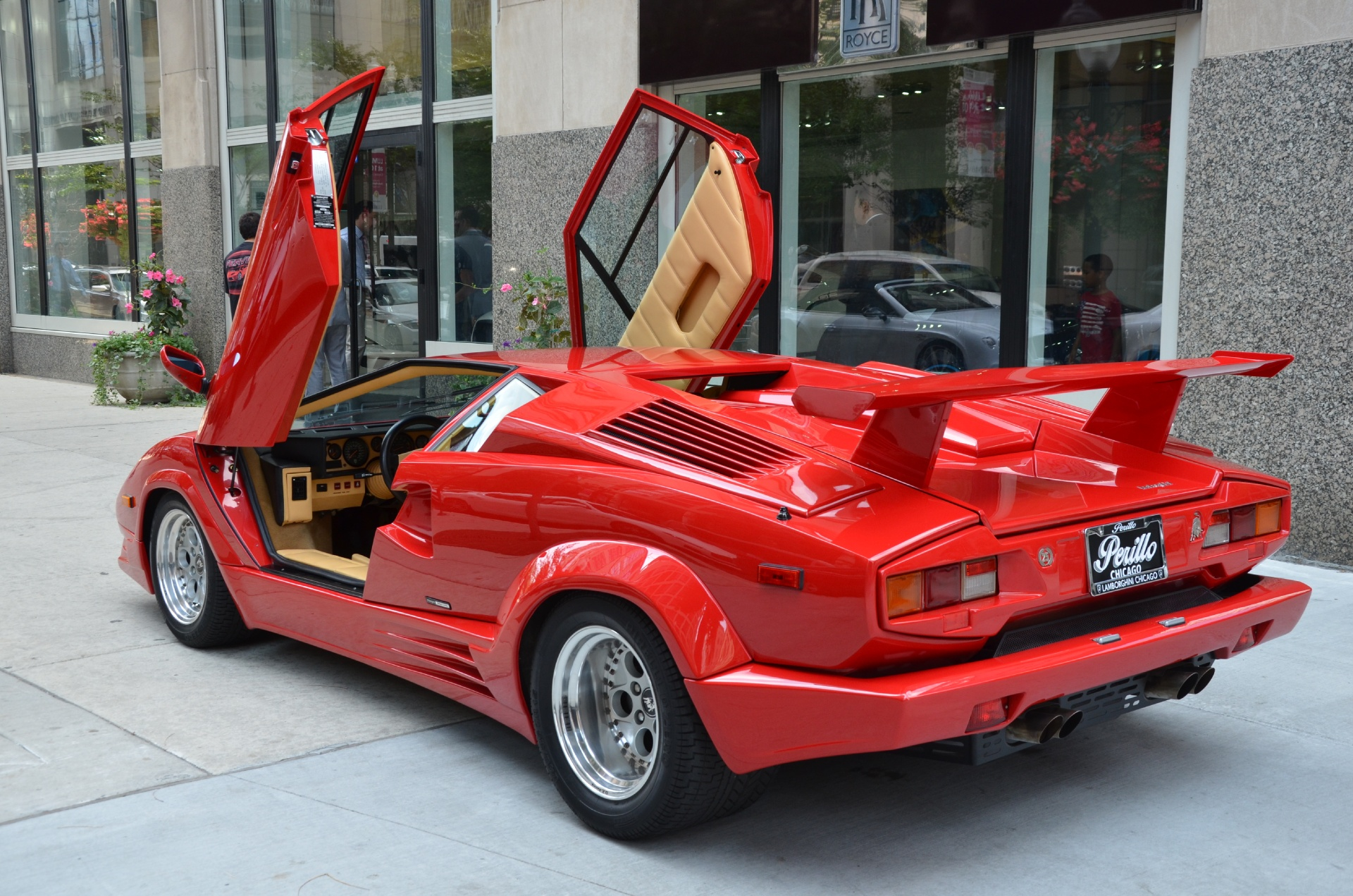 1989 Lamborghini Countach 25th Anniversary Edition Stock