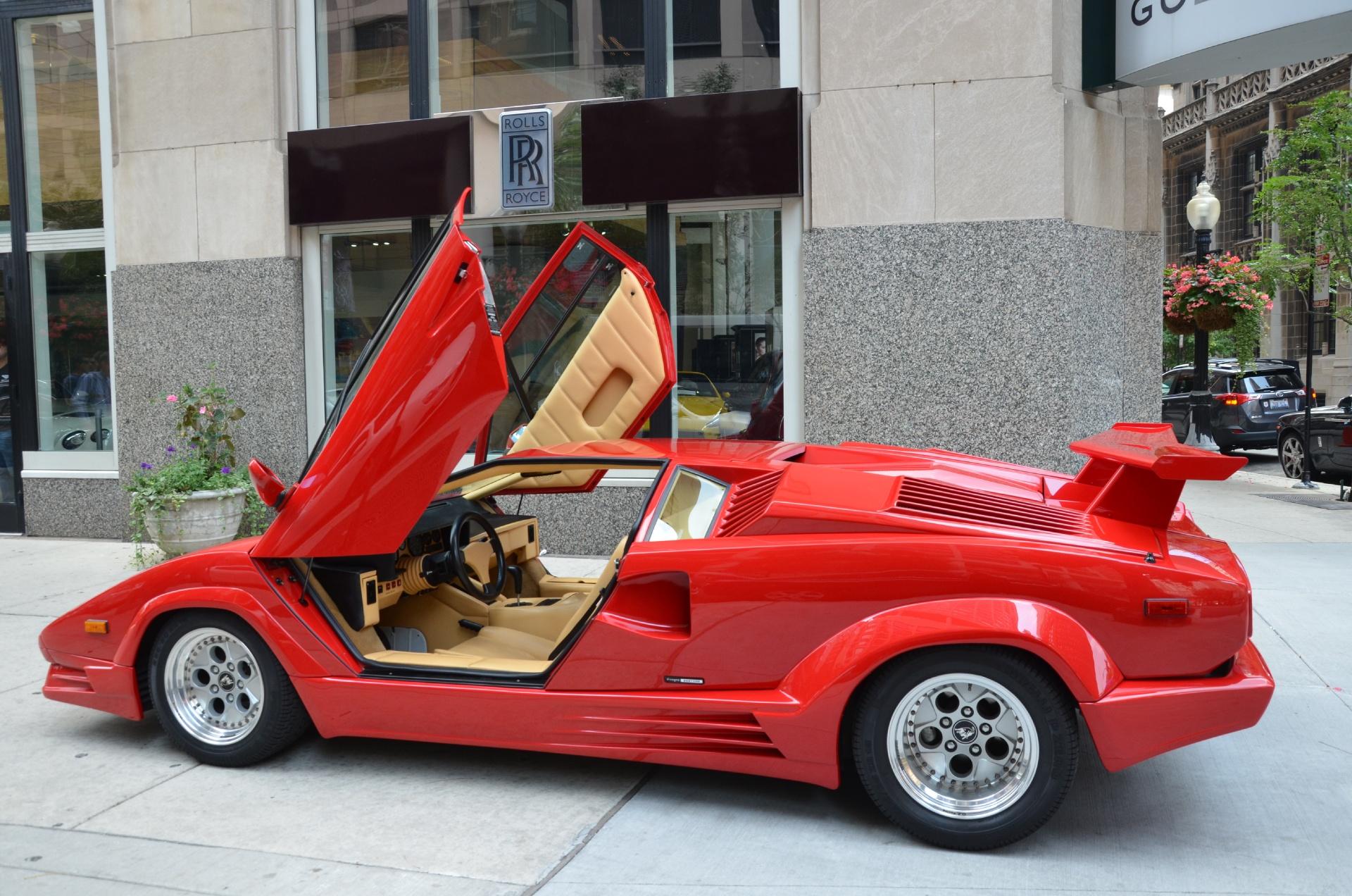 4875_p8_l Elegant Lamborghini Countach 25th Anniversary Specs Cars Trend