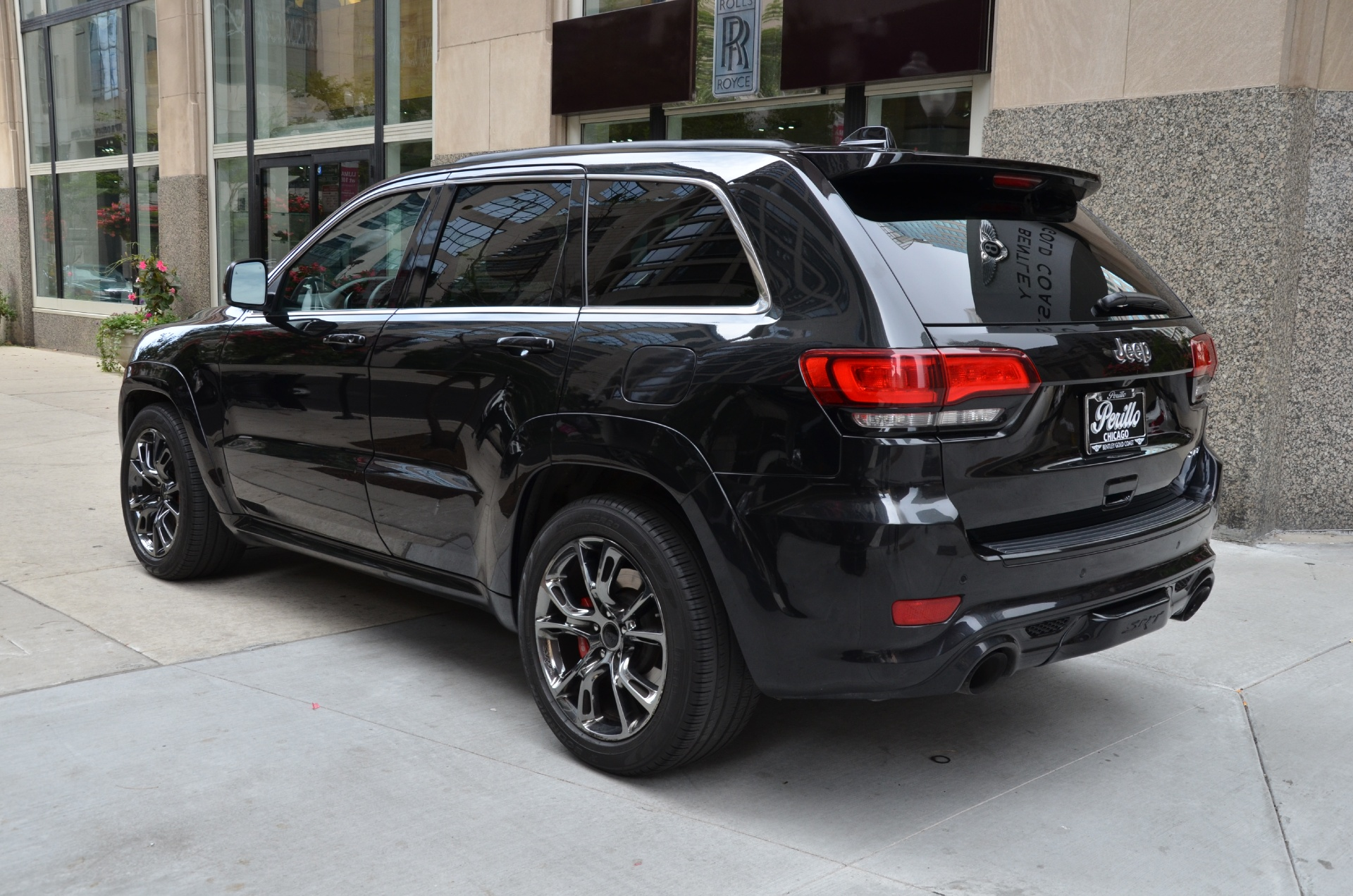2014 jeep grand cherokee srt stock m455a for sale near chicago il il jeep dealer. Black Bedroom Furniture Sets. Home Design Ideas
