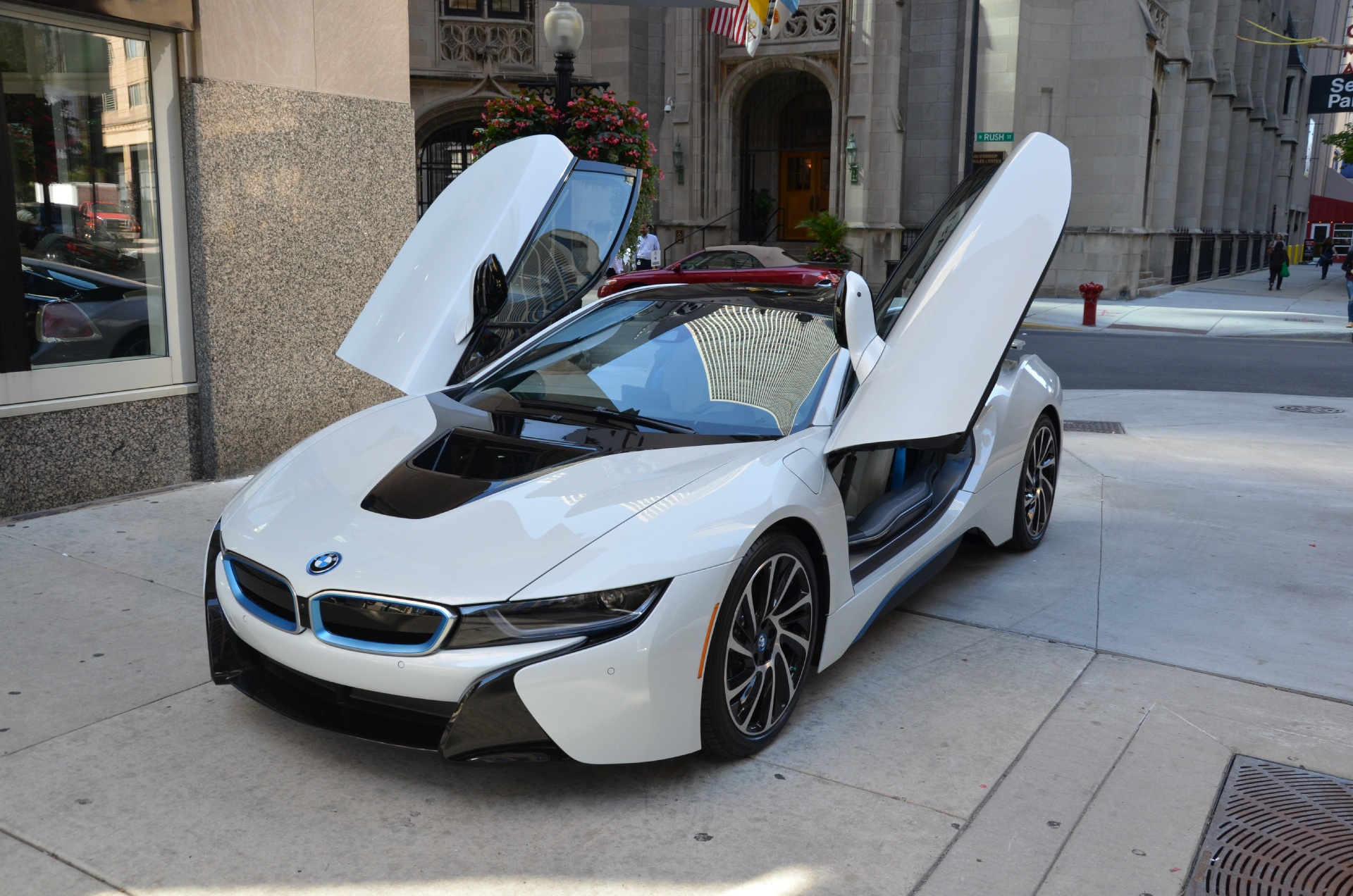 2015 bmw i8 stock 91143 for sale near chicago il il bmw dealer. Black Bedroom Furniture Sets. Home Design Ideas