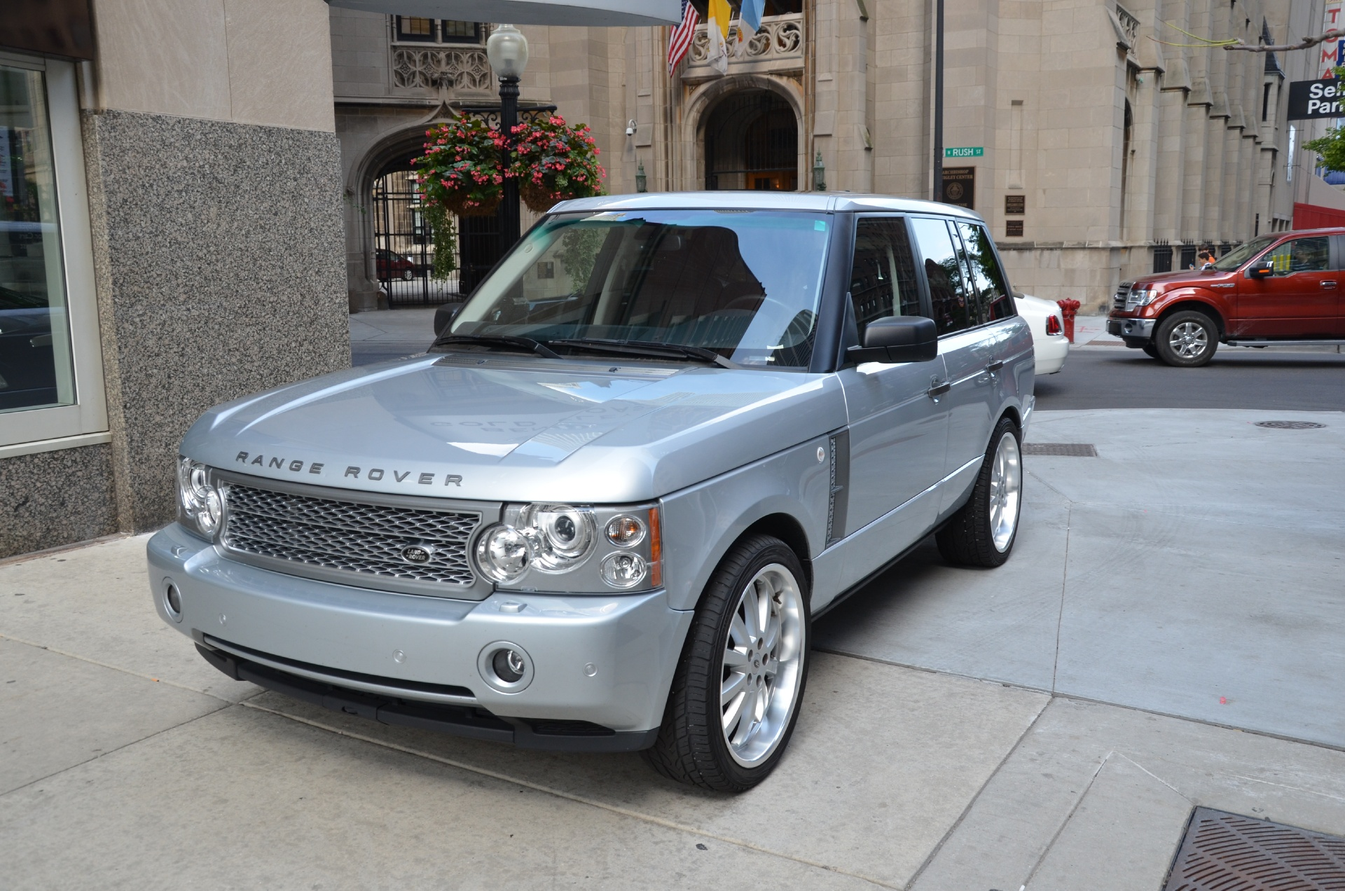 2007 land rover range rover supercharged stock gc1779a for sale near chicago il il land. Black Bedroom Furniture Sets. Home Design Ideas