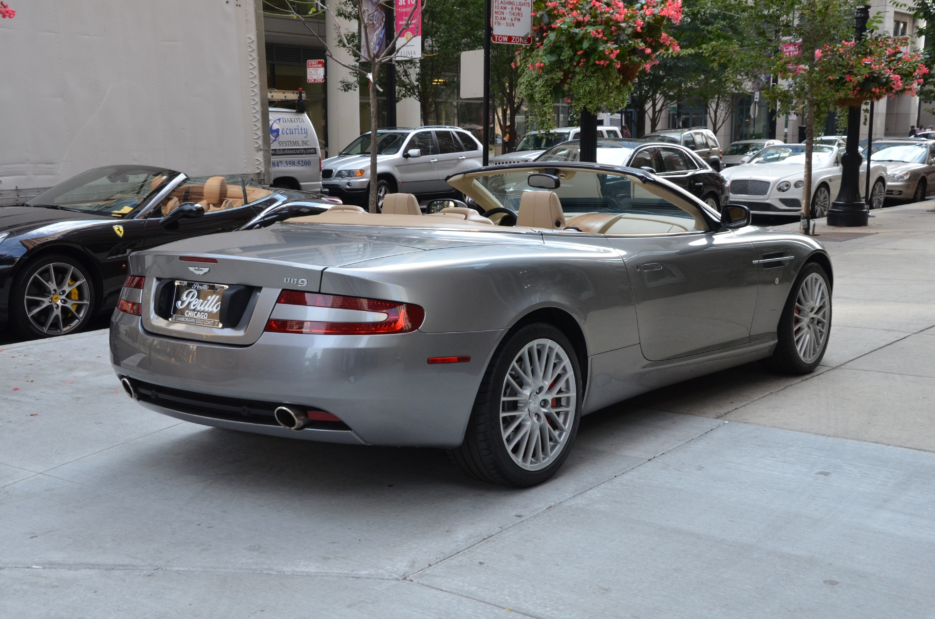 2009 aston martin db9 volante stock gc1564a for sale near chicago il il aston martin dealer. Black Bedroom Furniture Sets. Home Design Ideas