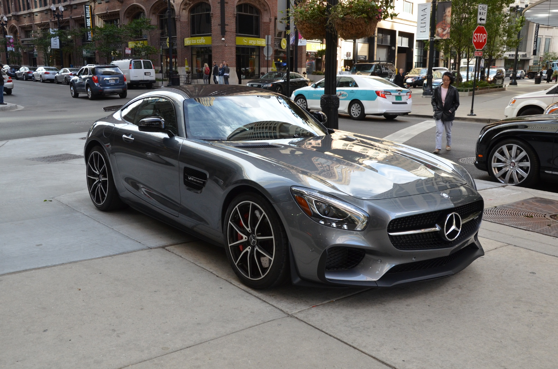 2016 mercedes benz amg gt s stock gc1700a for sale near for Mercedes benz chicagoland