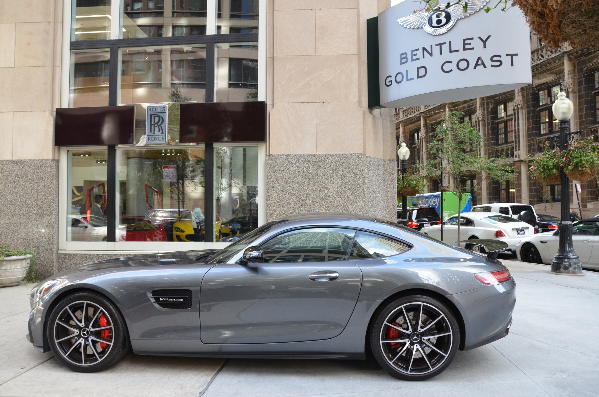 2016 mercedes benz amg gt s stock gc1700a for sale near for Mercedes benz chicago dealers