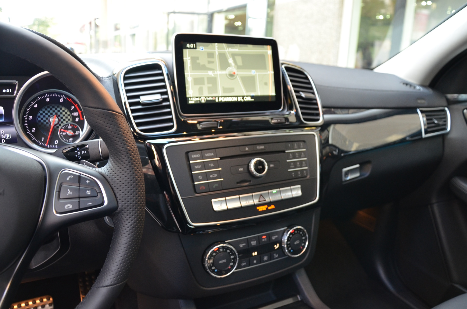 2016 Mercedes Benz Gle Class Gle450 Amg Coupe Stock