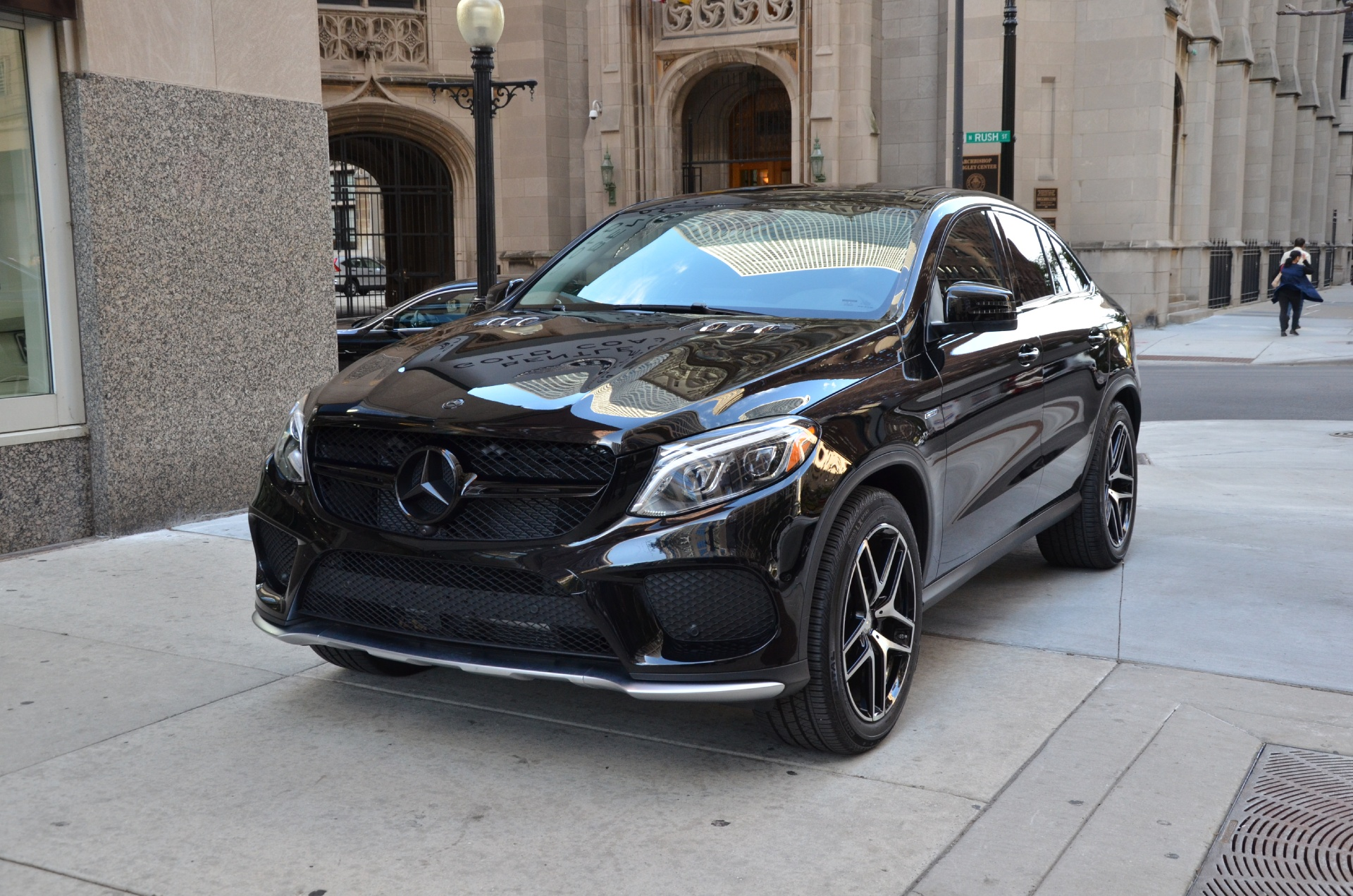 2016 mercedes benz gle class gle450 amg coupe stock 10640 for sale near chicago il il. Black Bedroom Furniture Sets. Home Design Ideas