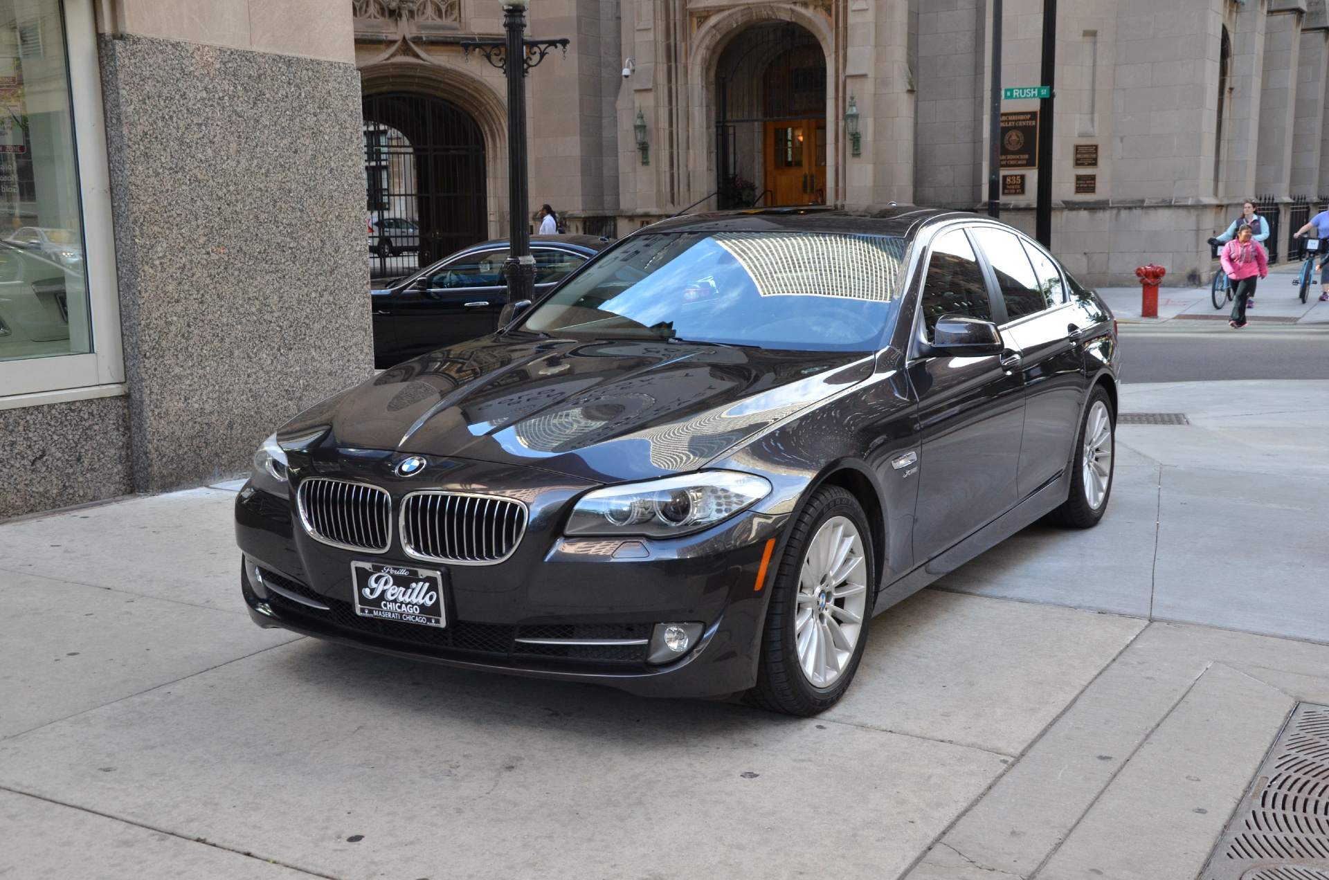 2011 bmw 5 series 535i xdrive stock m462a for sale near chicago il il bmw dealer. Black Bedroom Furniture Sets. Home Design Ideas