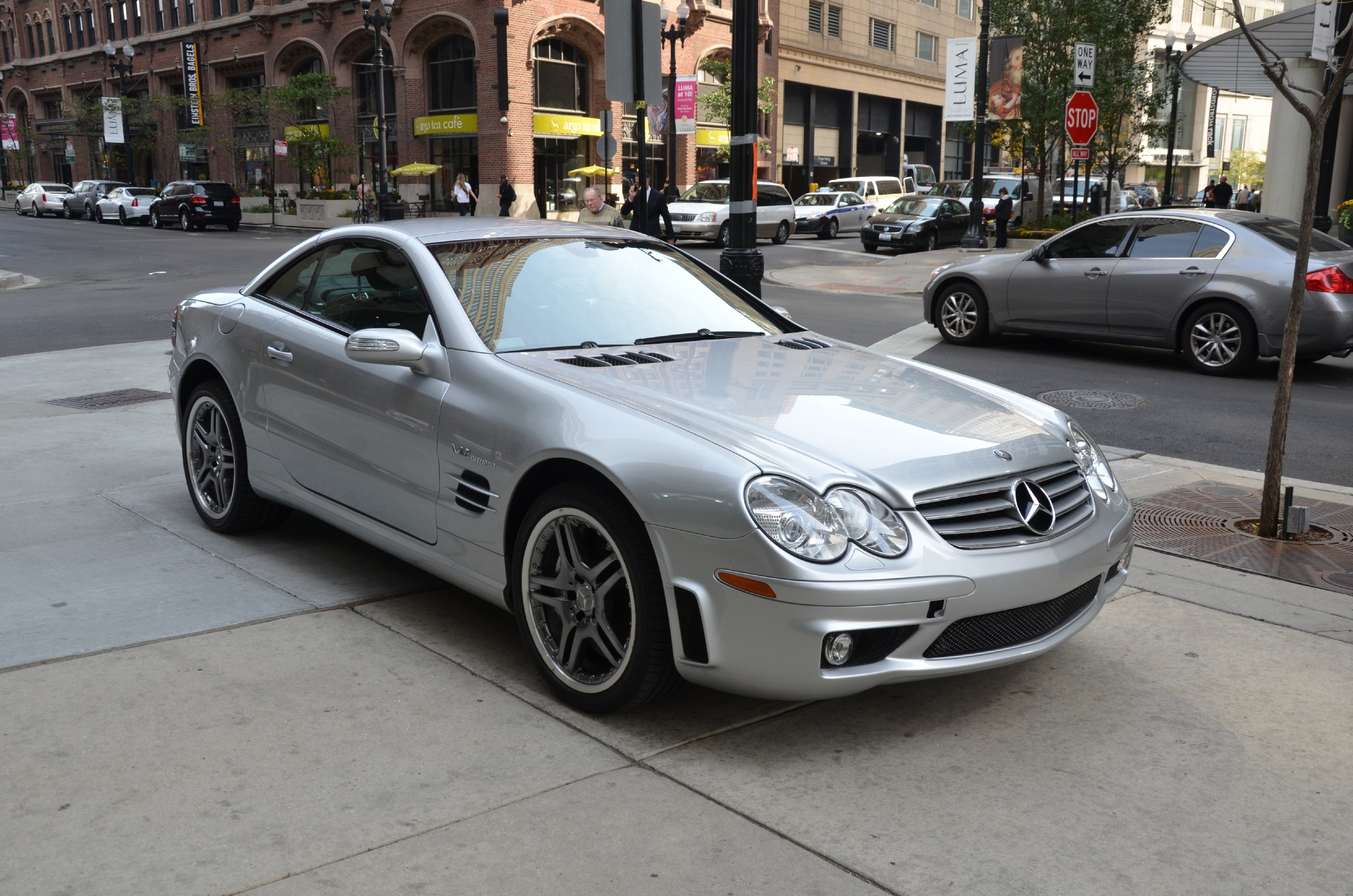 2005 mercedes benz sl class sl65 amg stock r216aa for for 2005 mercedes benz sl class