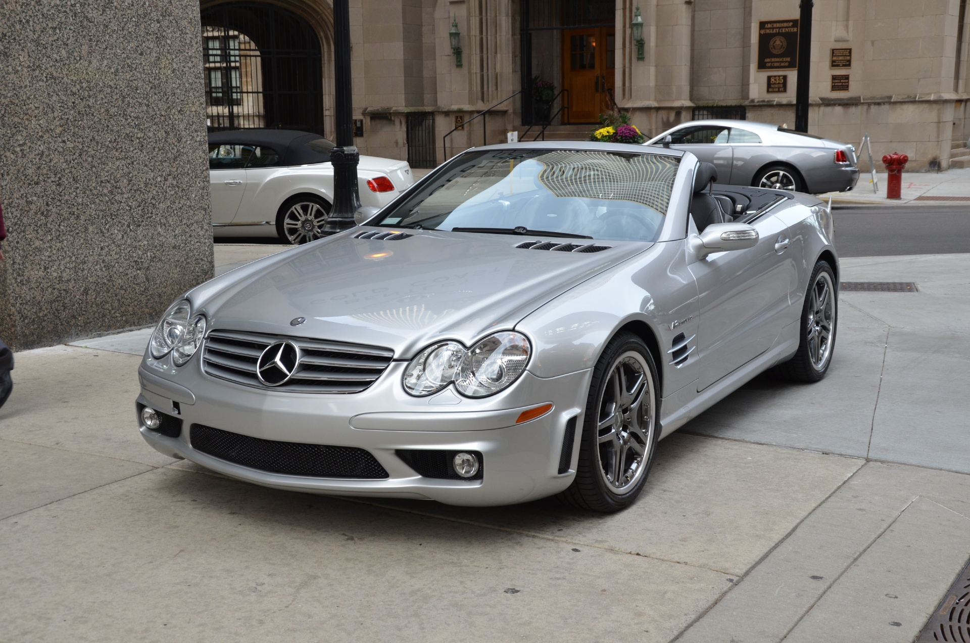 2005 mercedes benz sl class sl65 amg stock r216aa for for Mercedes benz okc service