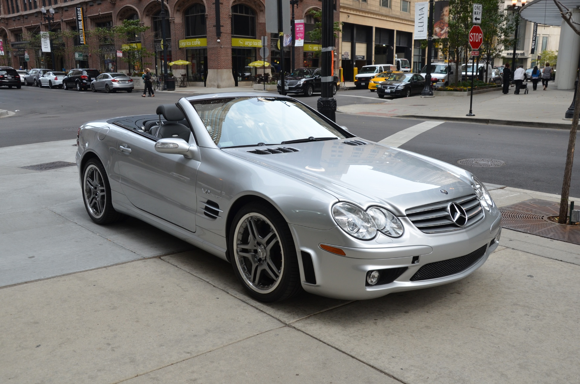 2005 Mercedes Benz Sl Class Sl65 Amg Stock R216aa For