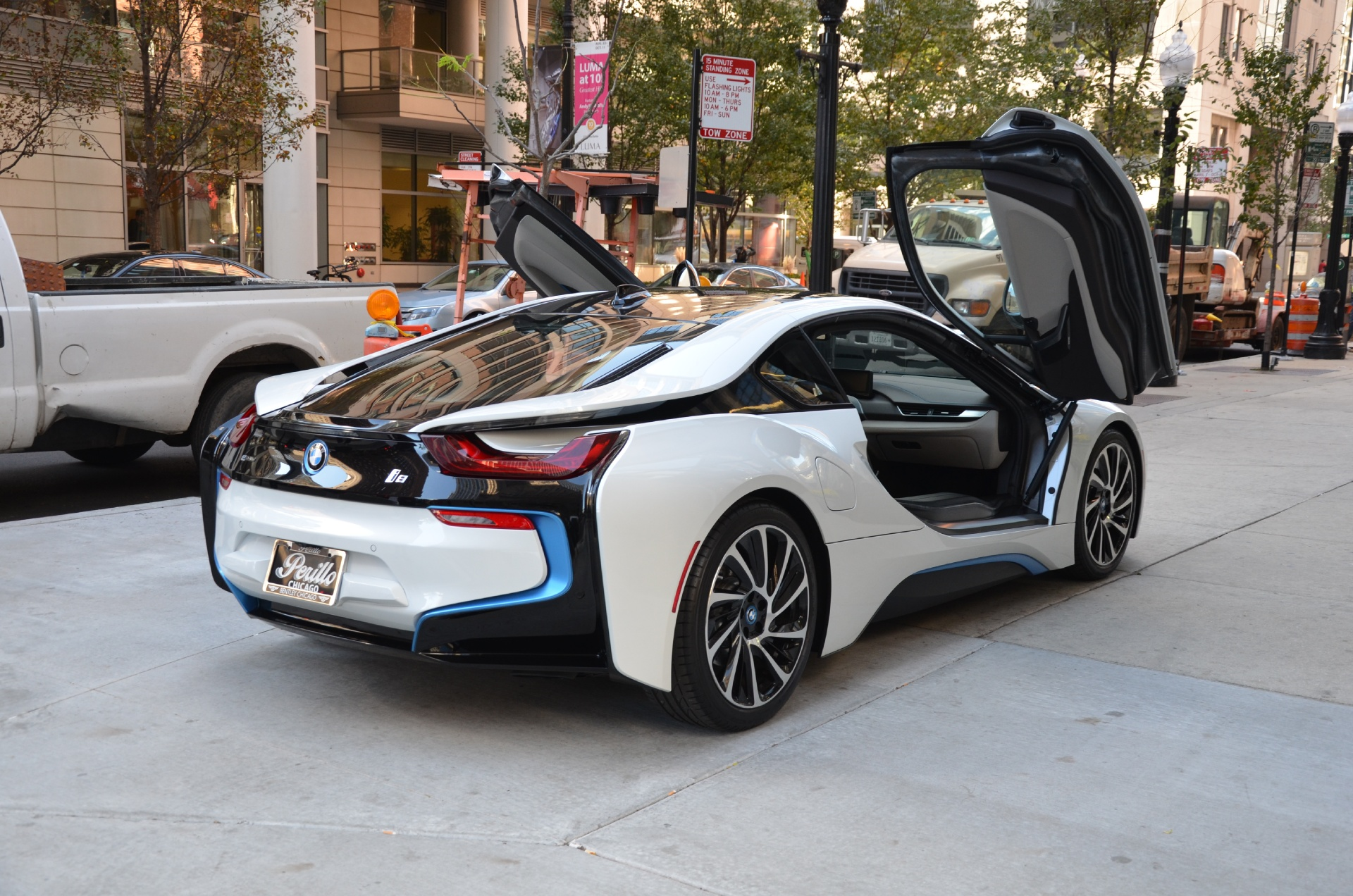 2014 bmw i8 stock gc1723a for sale near chicago il il bmw dealer. Black Bedroom Furniture Sets. Home Design Ideas