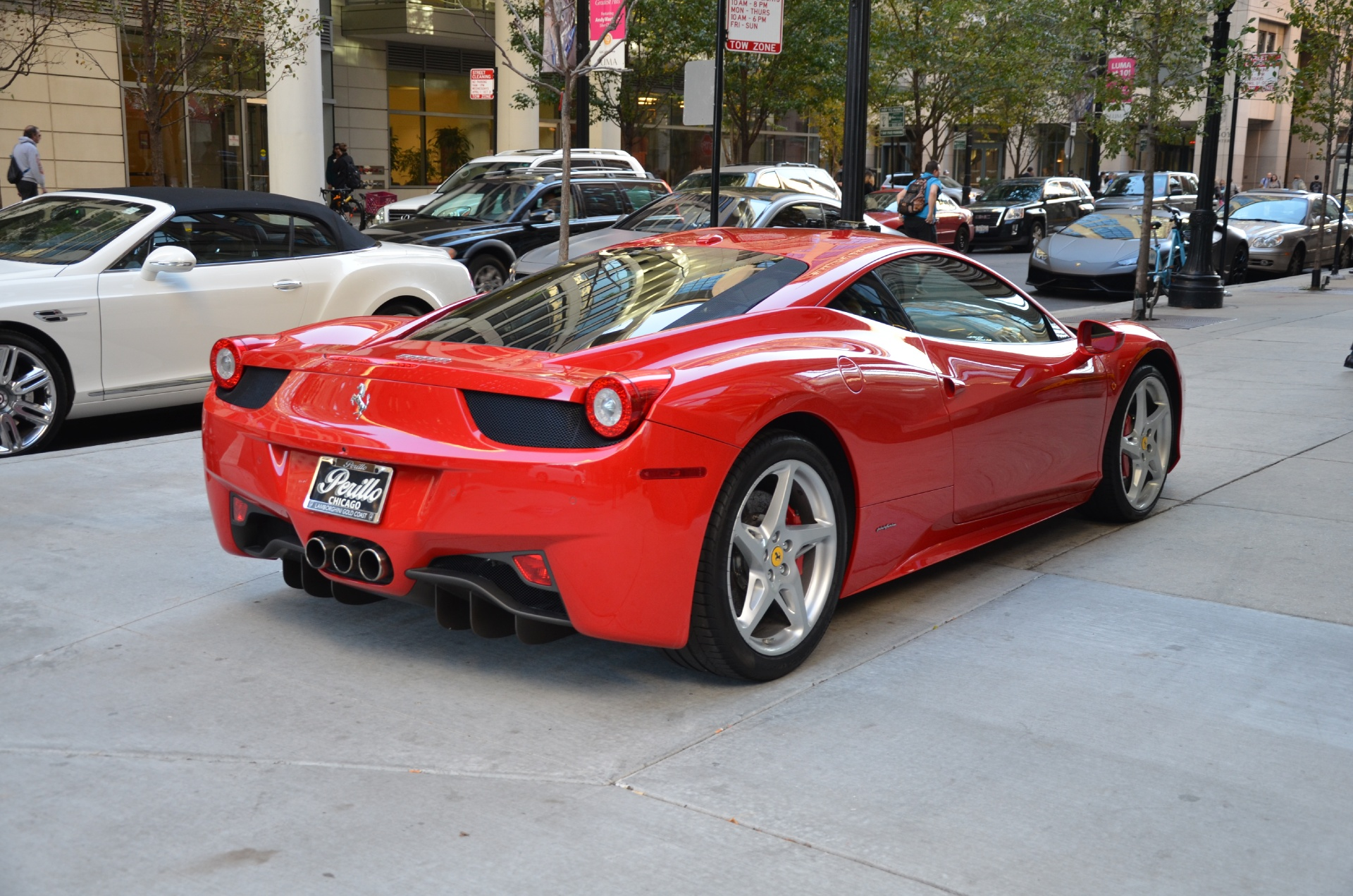 2011 ferrari 458 italia stock gc1729aa for sale near chicago il il ferrari dealer. Black Bedroom Furniture Sets. Home Design Ideas