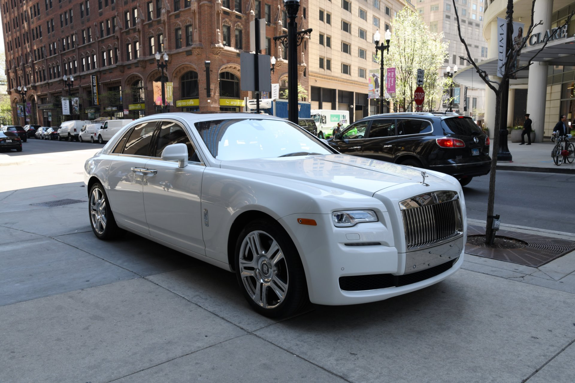 2016 rolls royce ghost stock r509a for sale near chicago il il rolls royce dealer. Black Bedroom Furniture Sets. Home Design Ideas