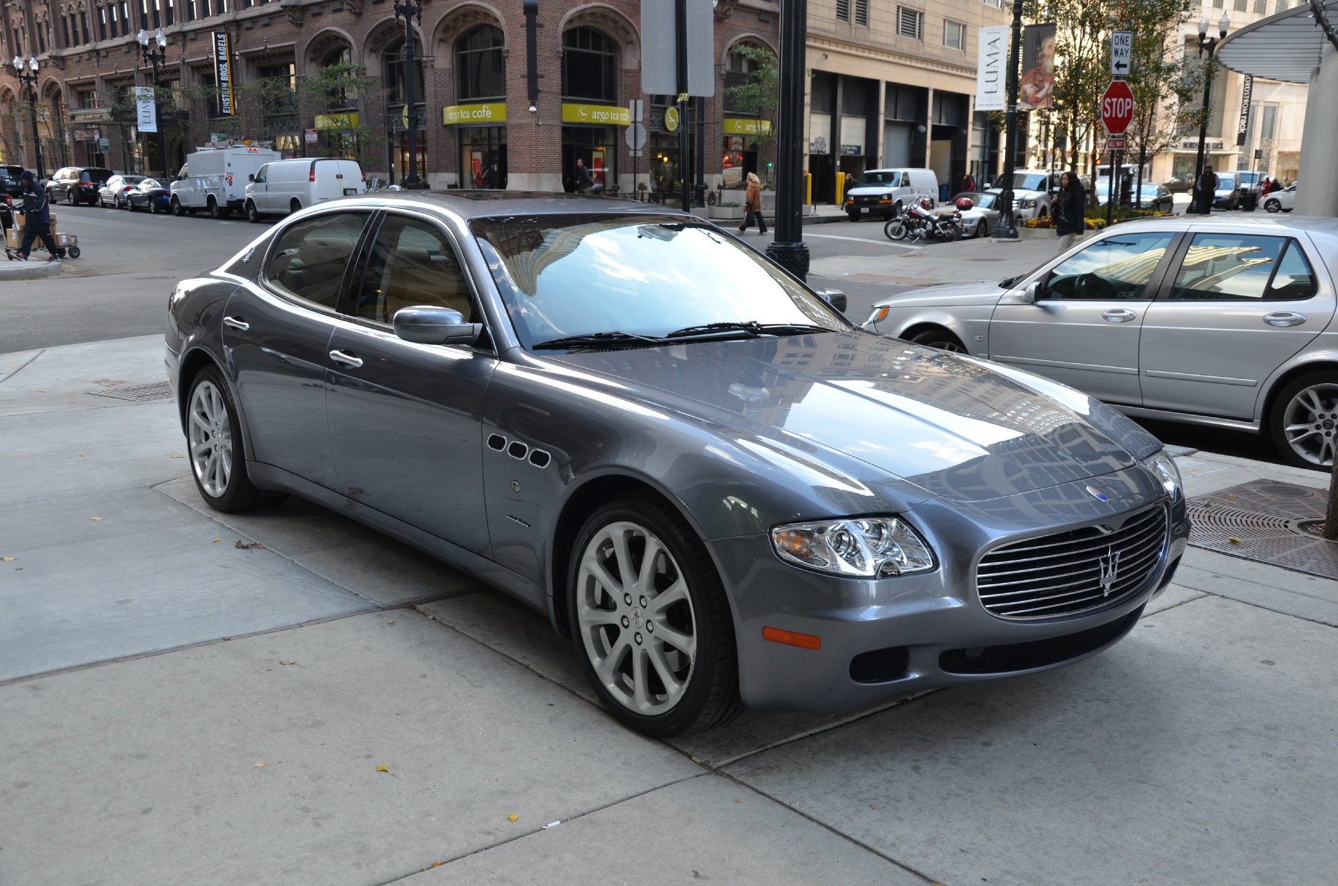 2007 maserati quattroporte sport gt automatic stock b604aa for sale near chicago il il. Black Bedroom Furniture Sets. Home Design Ideas