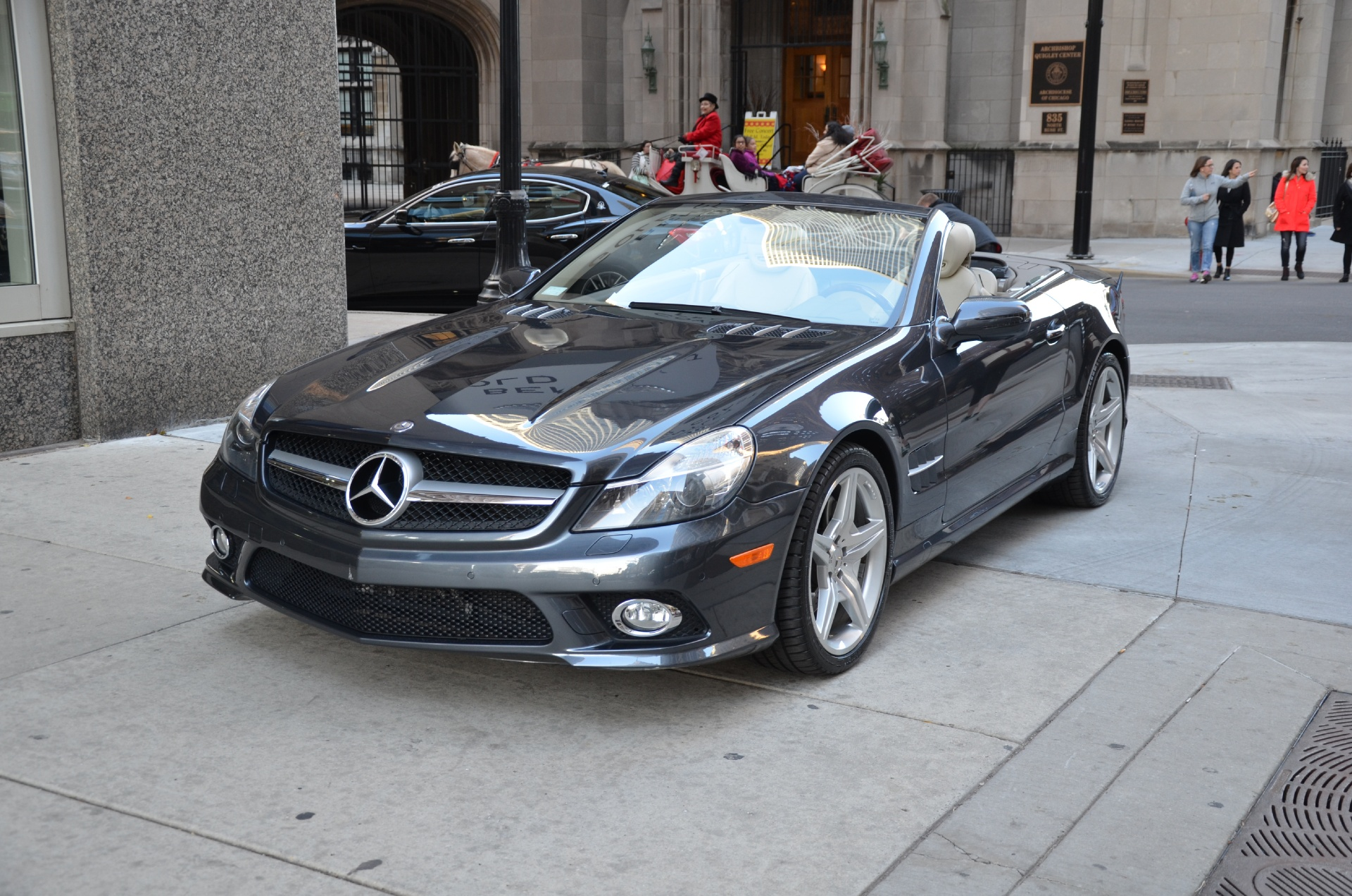 2009 mercedes benz sl class sl550 stock gc1679a for sale near chicago il il mercedes benz. Black Bedroom Furniture Sets. Home Design Ideas
