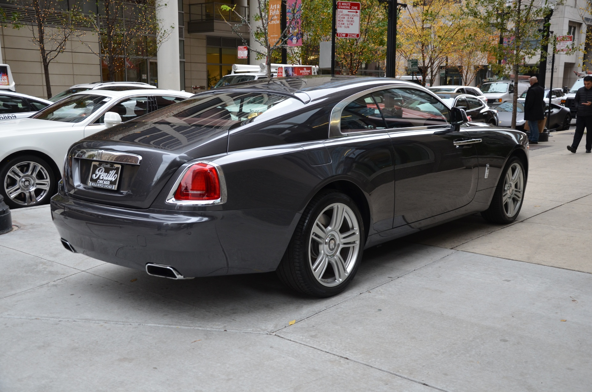 2014 rolls royce wraith stock r133a for sale near chicago il il rolls royce dealer. Black Bedroom Furniture Sets. Home Design Ideas