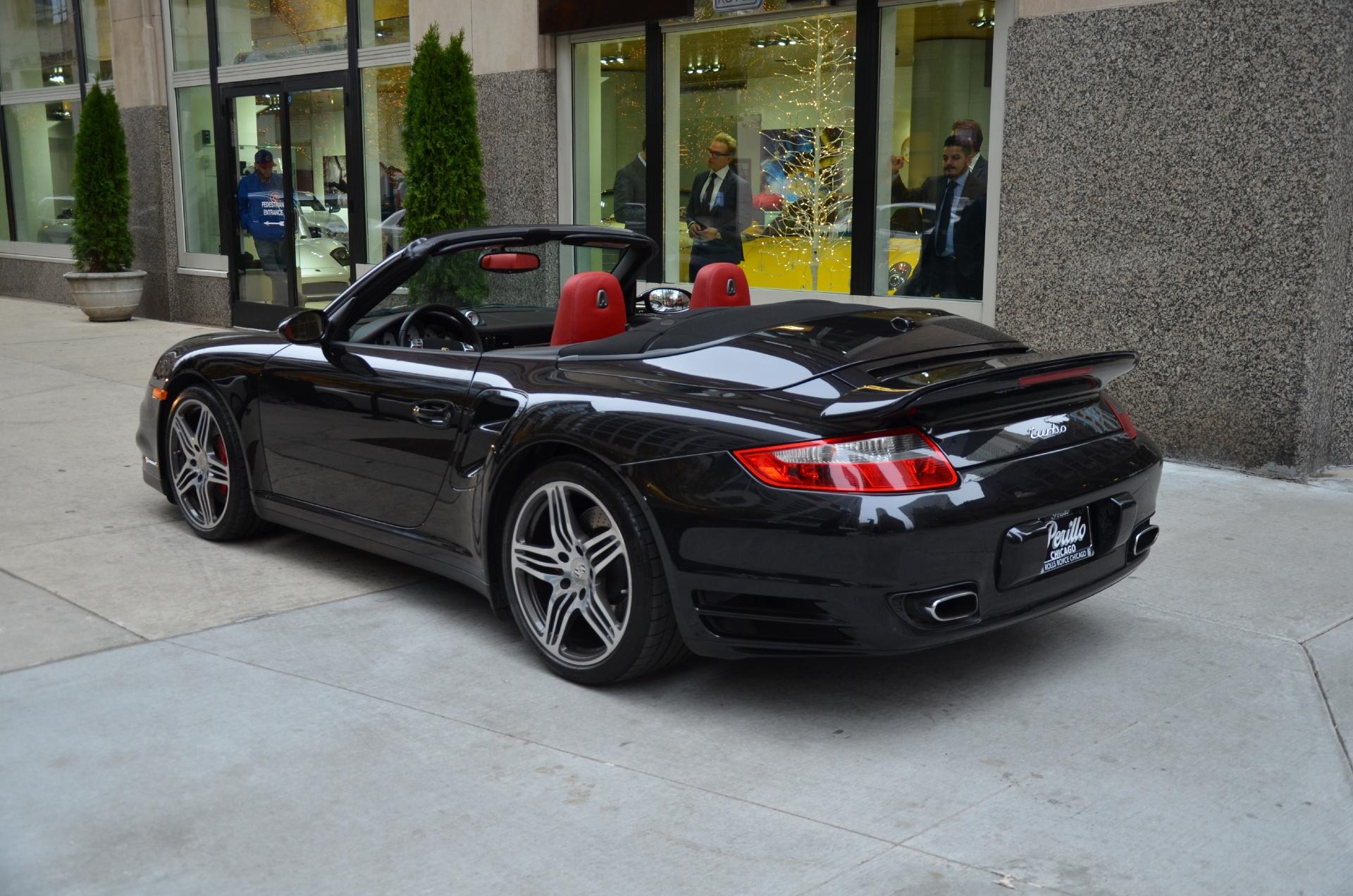 2009 porsche 911 turbo stock gc1788a for sale near chicago il il porsche dealer. Black Bedroom Furniture Sets. Home Design Ideas