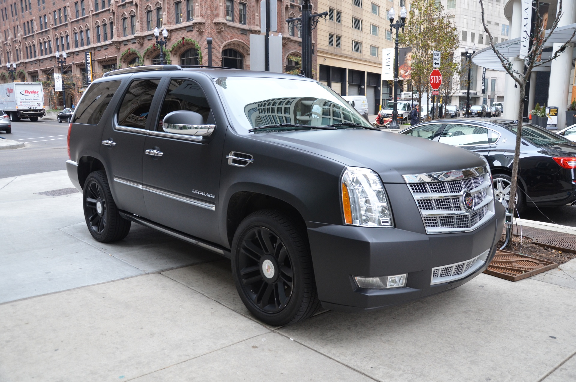 2012 cadillac escalade platinum edition stock gc1817a for sale near chicago il il cadillac. Black Bedroom Furniture Sets. Home Design Ideas