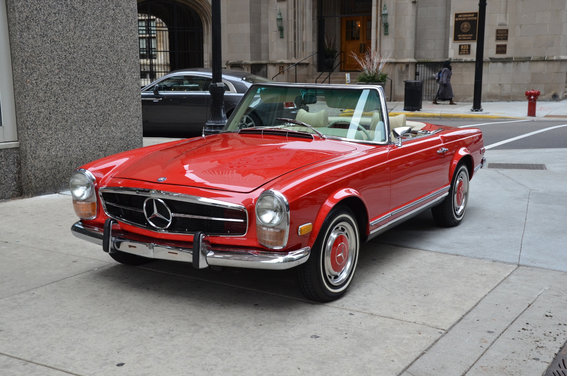 1970 mercedes benz 280sl convertible stock 13320 for for Mercedes benz convertible