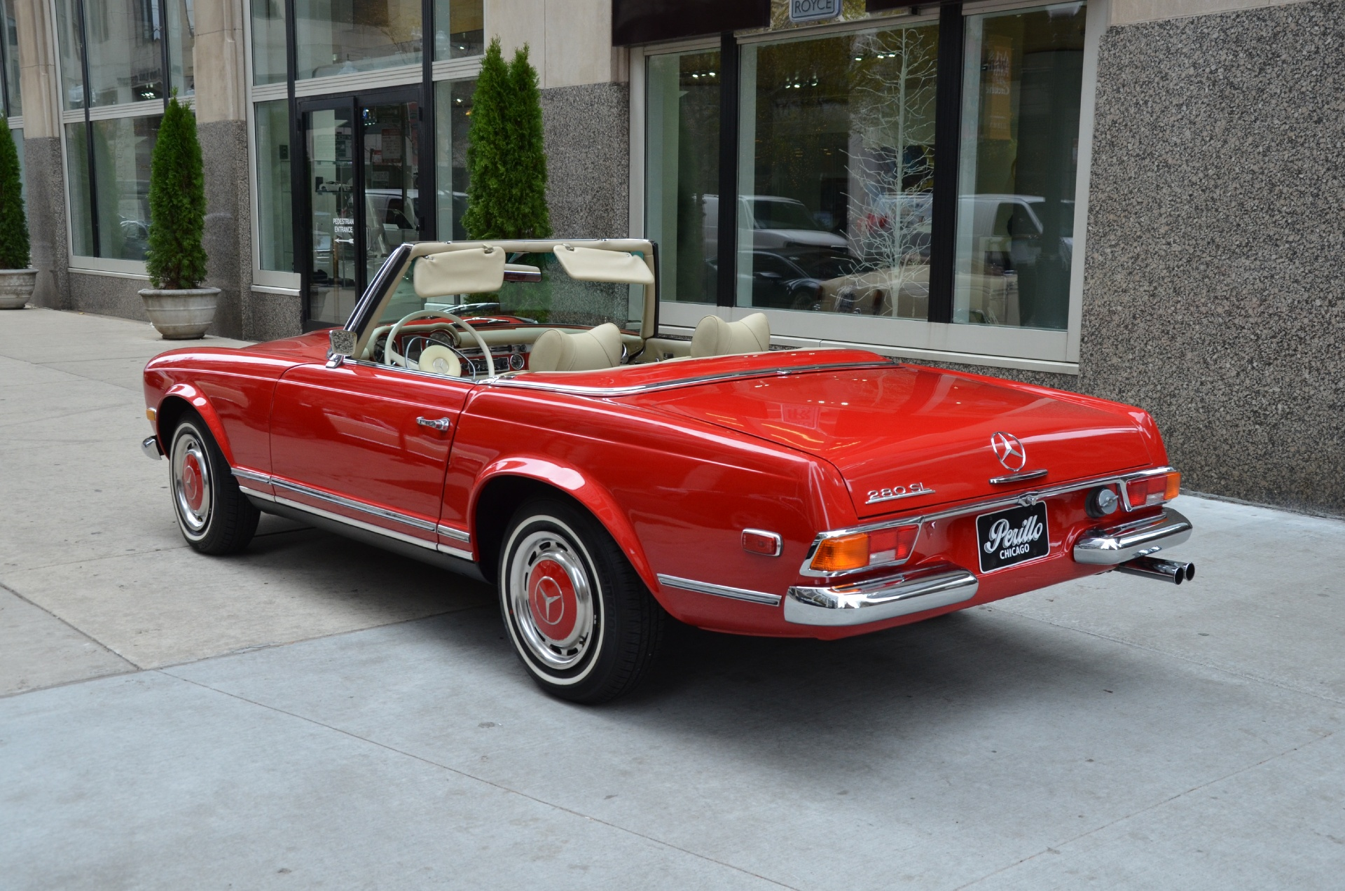 1970 mercedes benz 280sl convertible stock 13320 for for Mercedes benz dealership for sale
