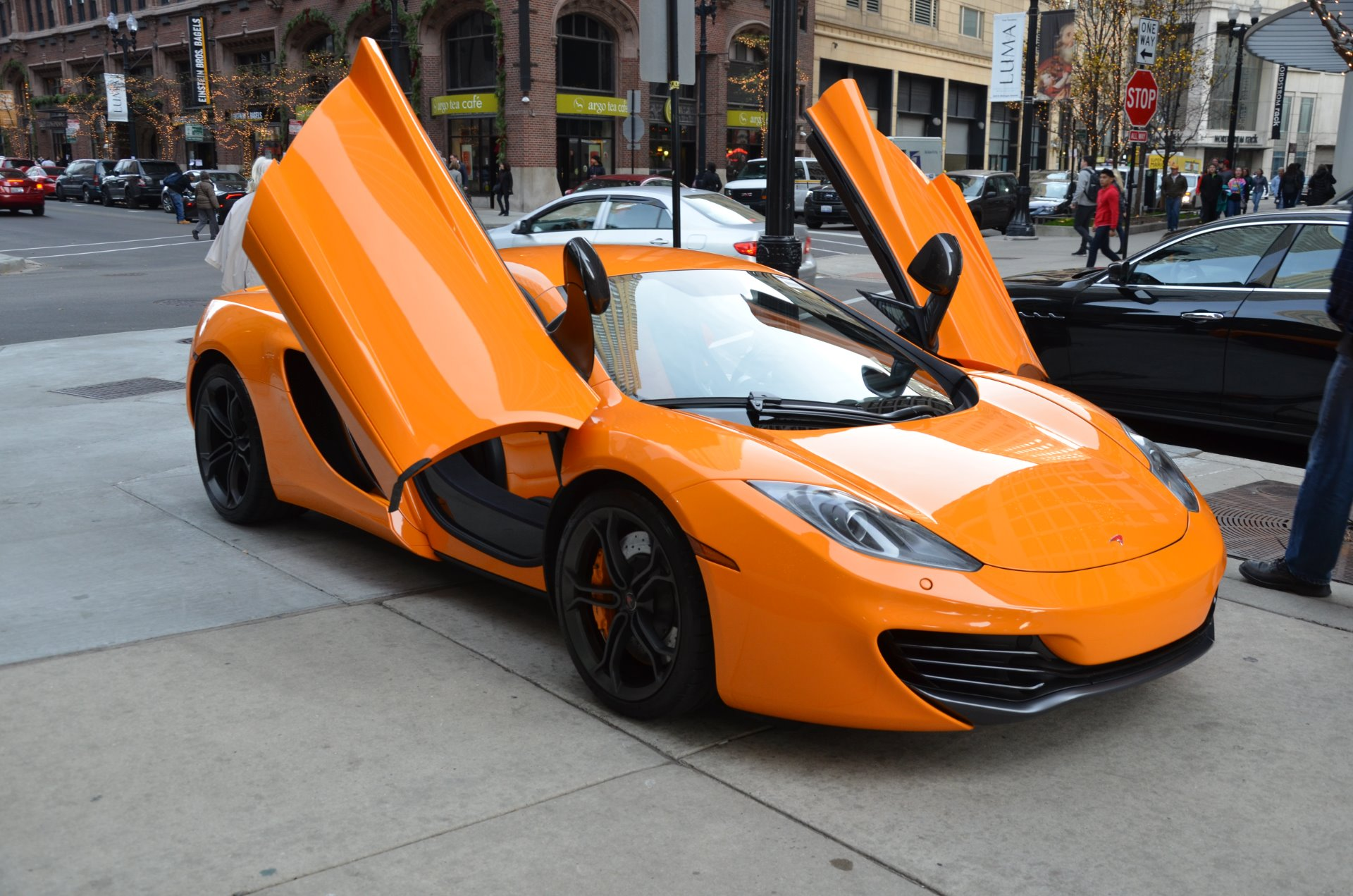 2012 mclaren mp4 12c stock l252a for sale near chicago. Black Bedroom Furniture Sets. Home Design Ideas