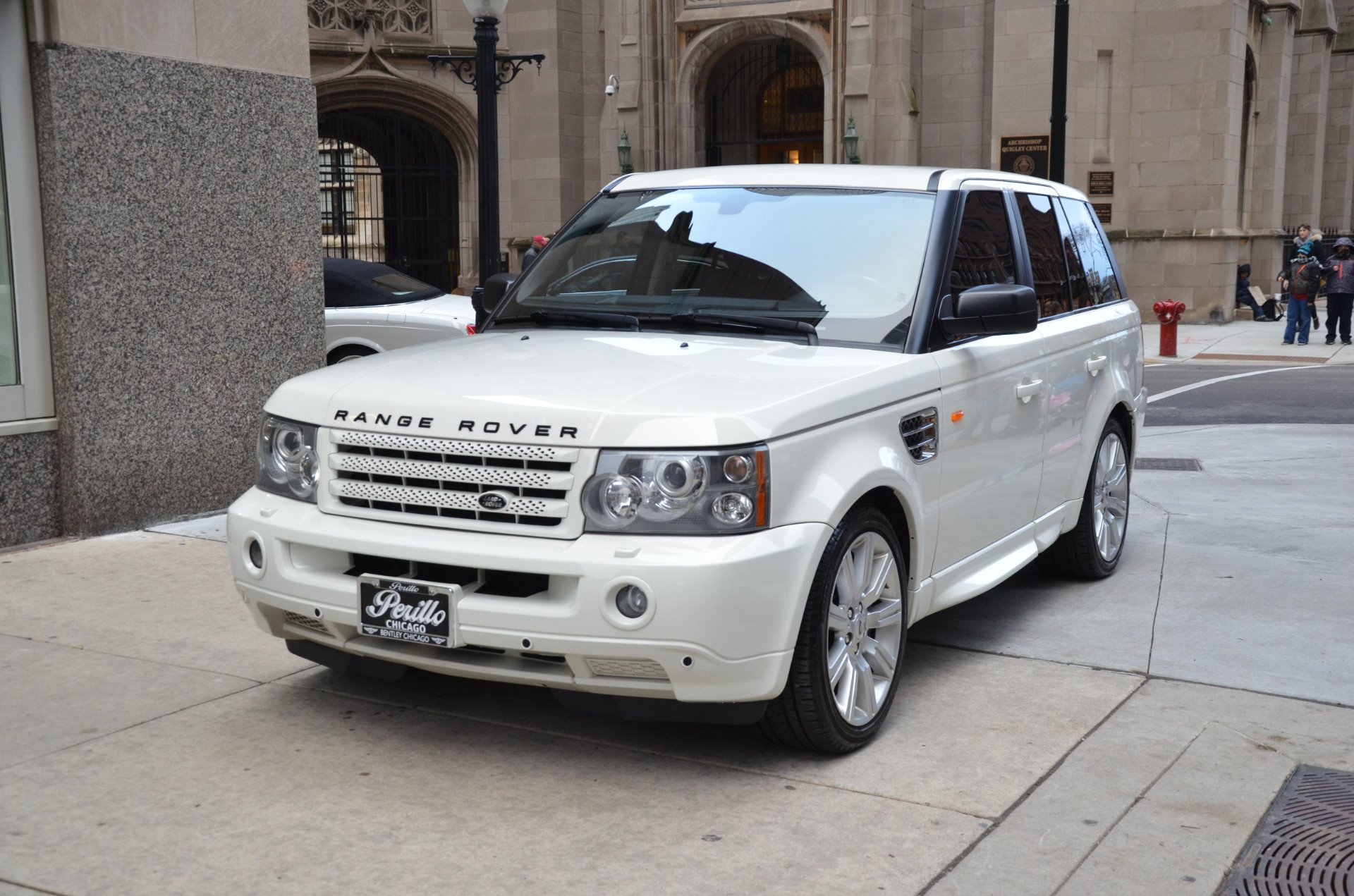 2008 Land Rover Range Rover Sport Supercharged Stock