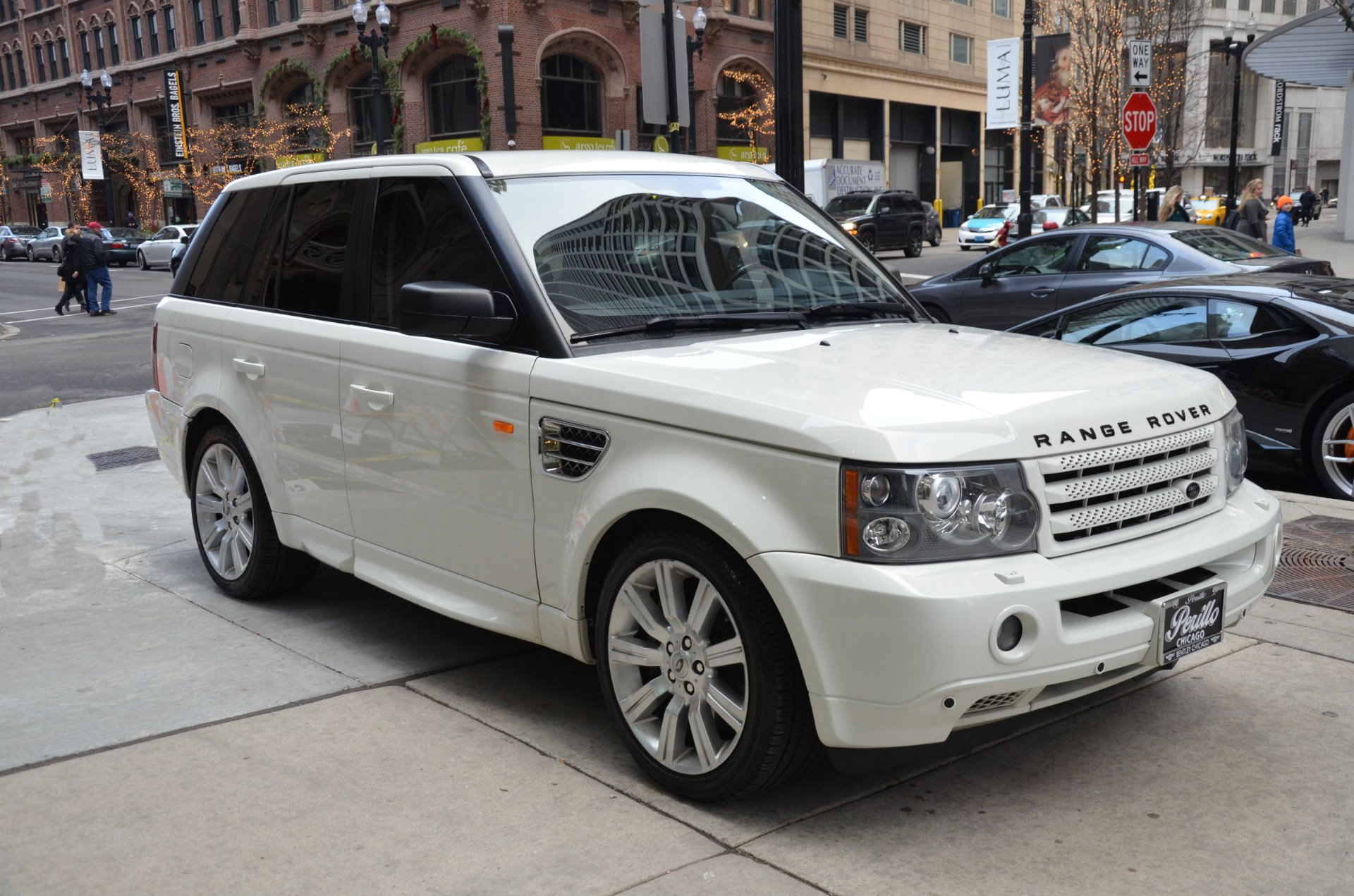 2008 land rover range rover sport supercharged stock 20727 for sale near chicago il il land. Black Bedroom Furniture Sets. Home Design Ideas