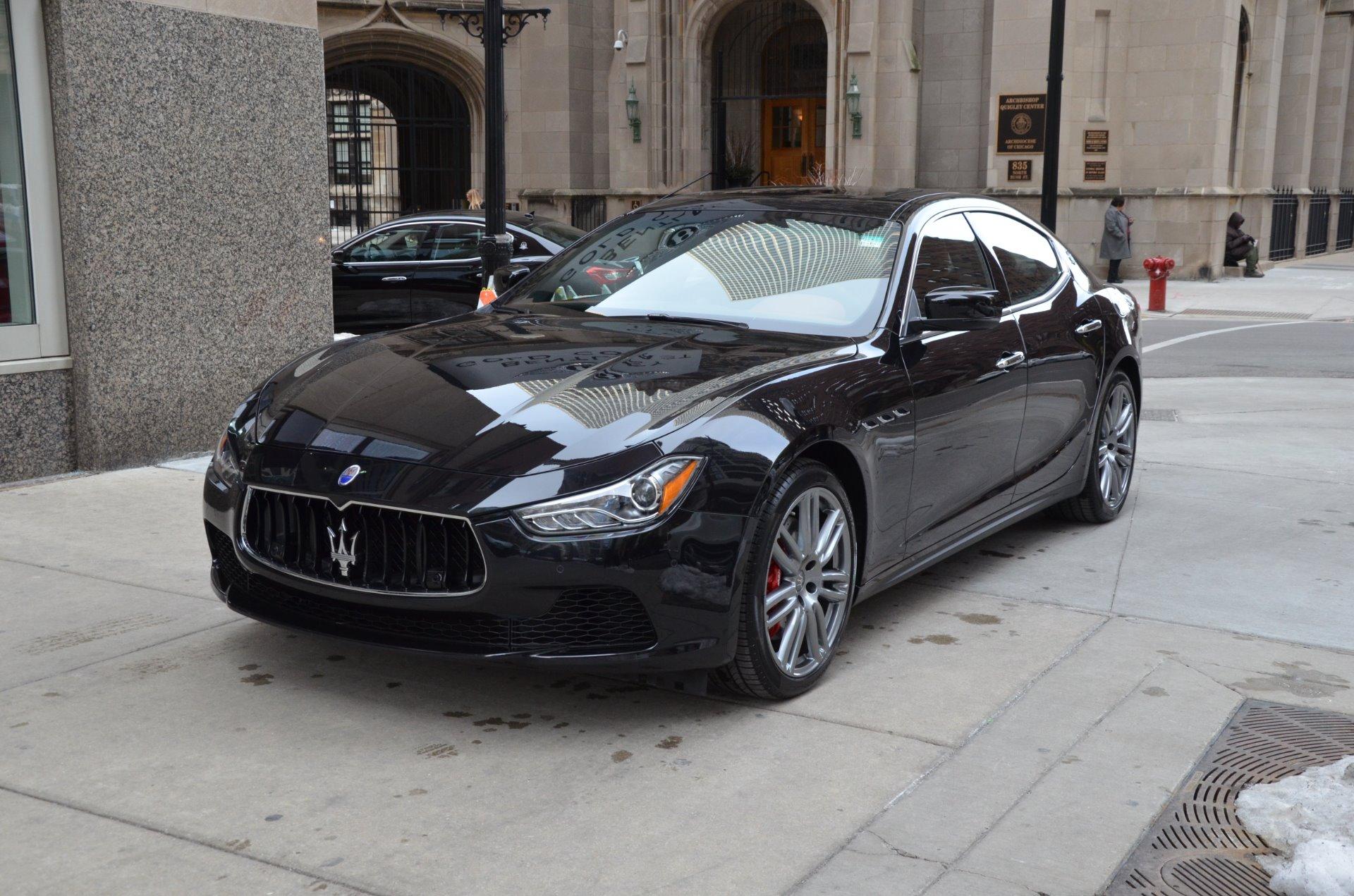 2016 Maserati Ghibli Sq4 S Q4 Stock M487 For Sale Near