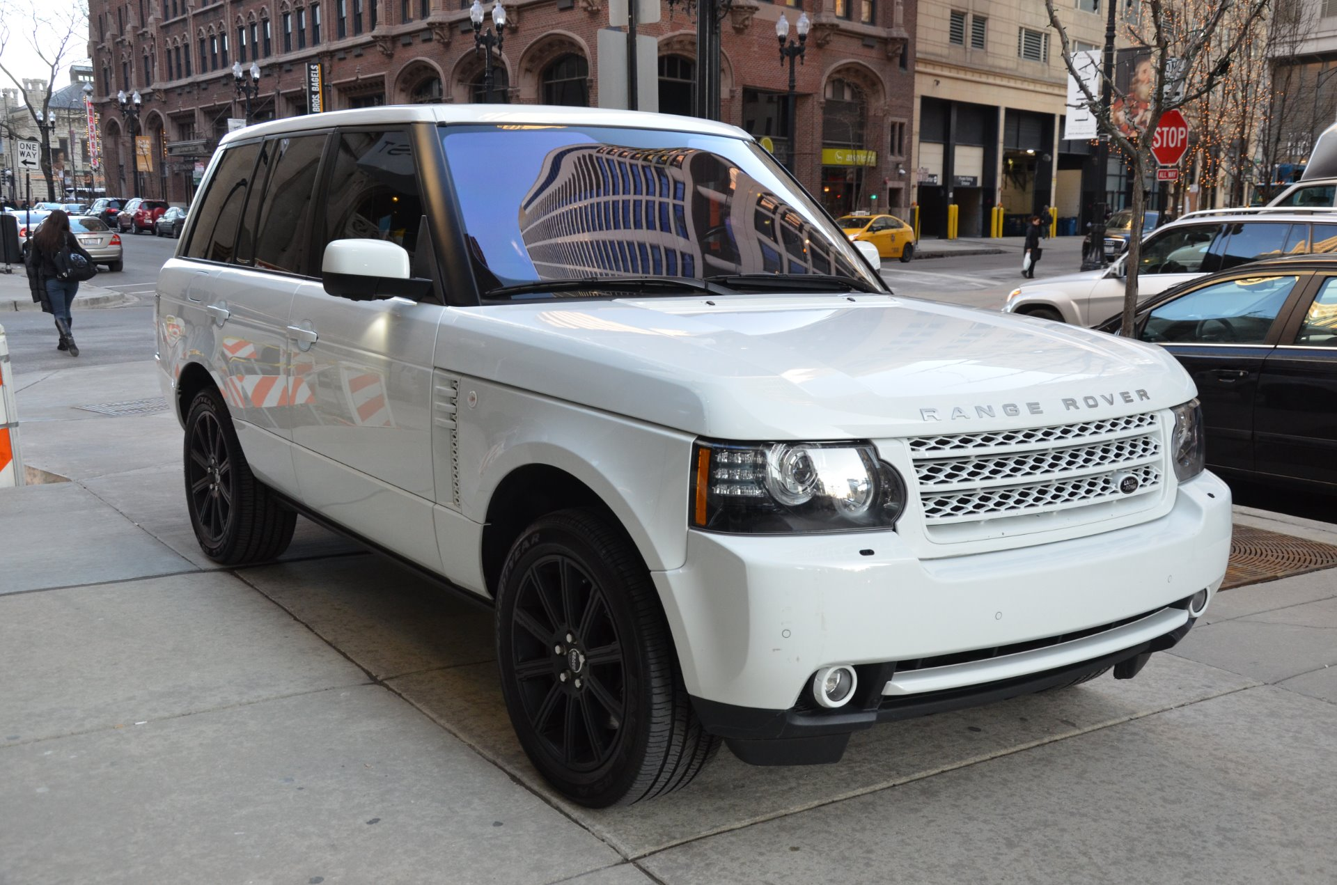 2012 land rover range rover supercharged stock gc1825a for sale near chicago il il land. Black Bedroom Furniture Sets. Home Design Ideas