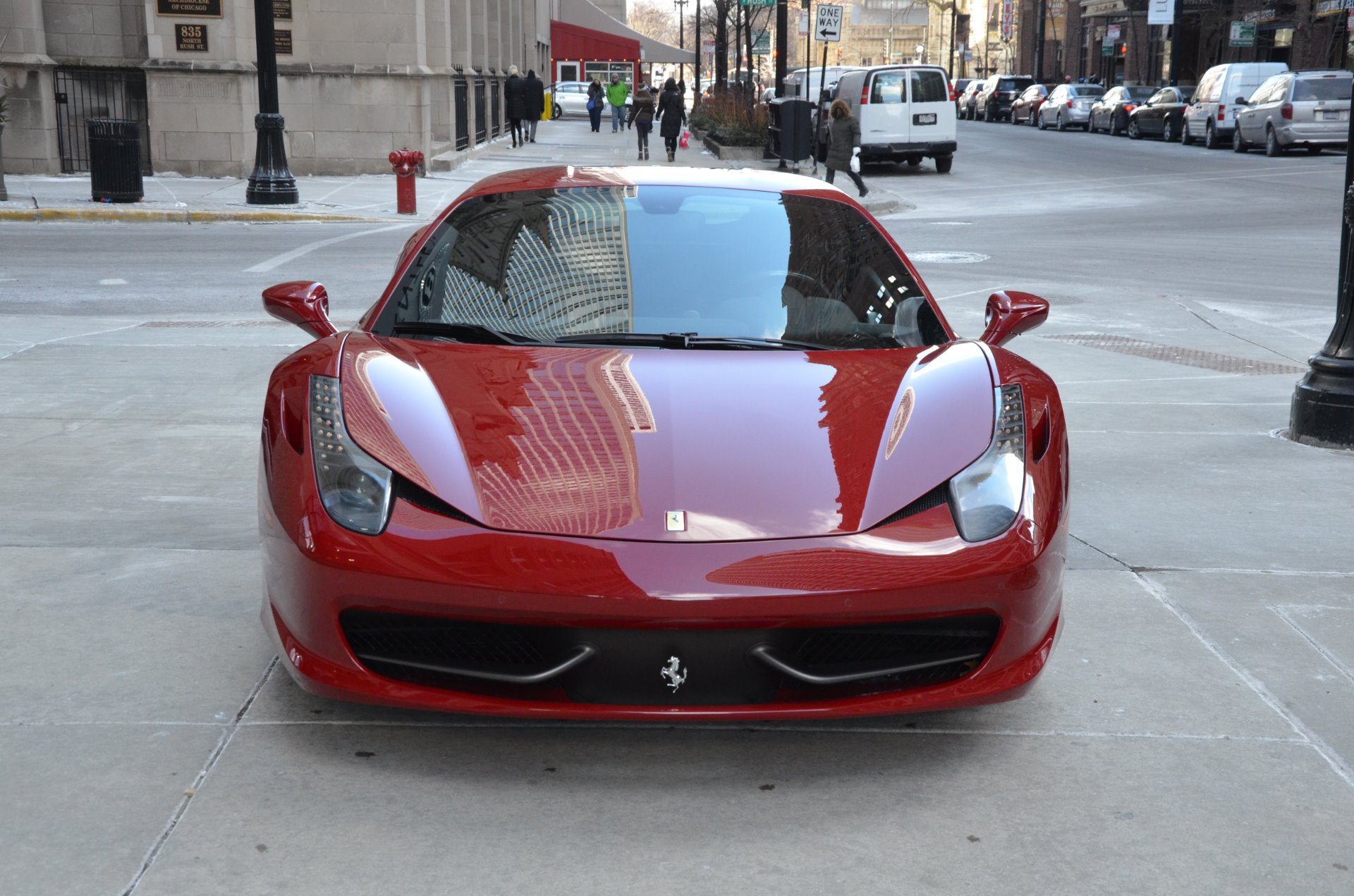 2012 ferrari 458 italia stock gc olena8038 for sale near chicago il il ferrari dealer. Black Bedroom Furniture Sets. Home Design Ideas