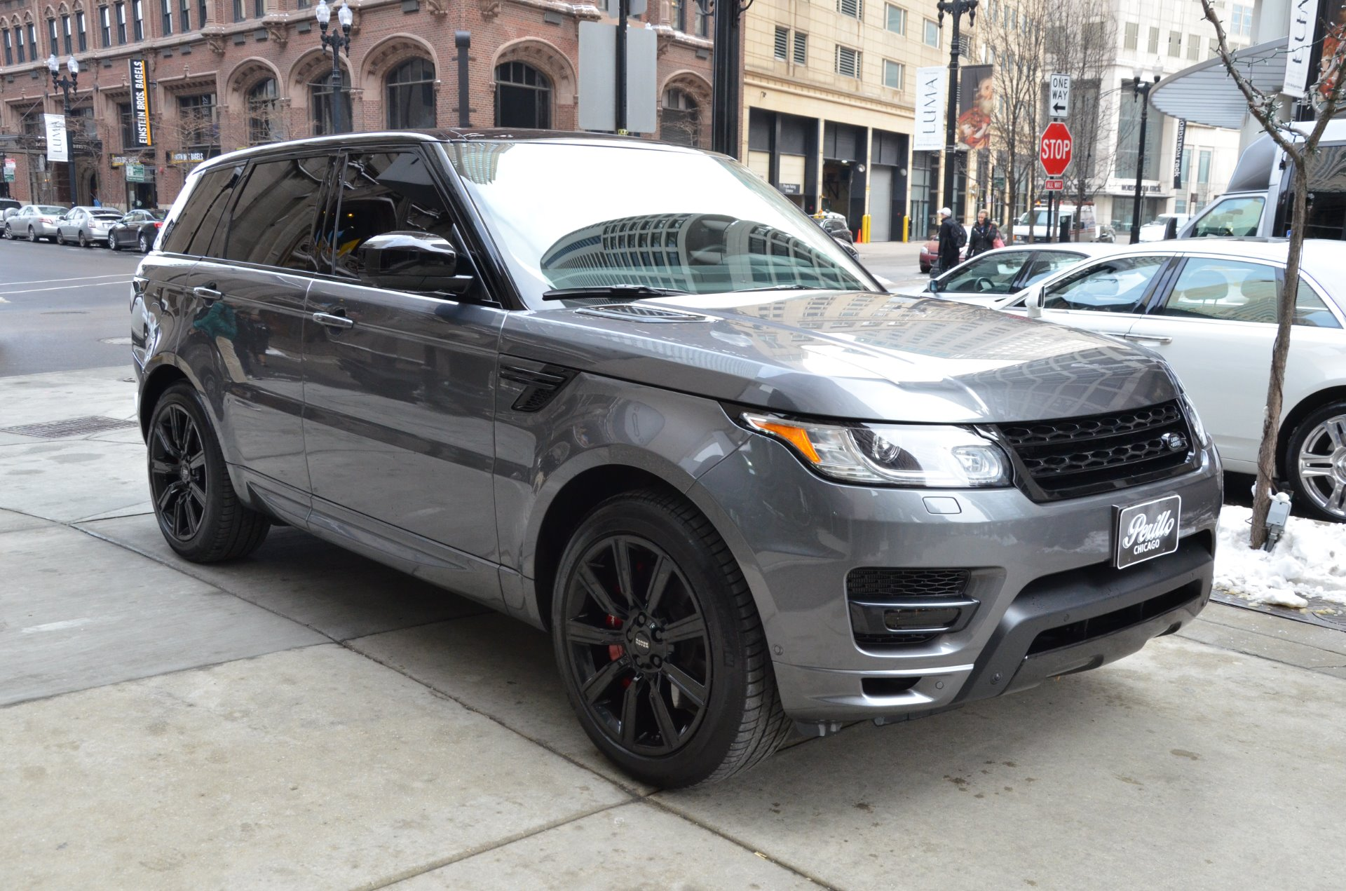 2014 land rover range rover sport autobiography stock gc1887 for sale near chicago il il. Black Bedroom Furniture Sets. Home Design Ideas