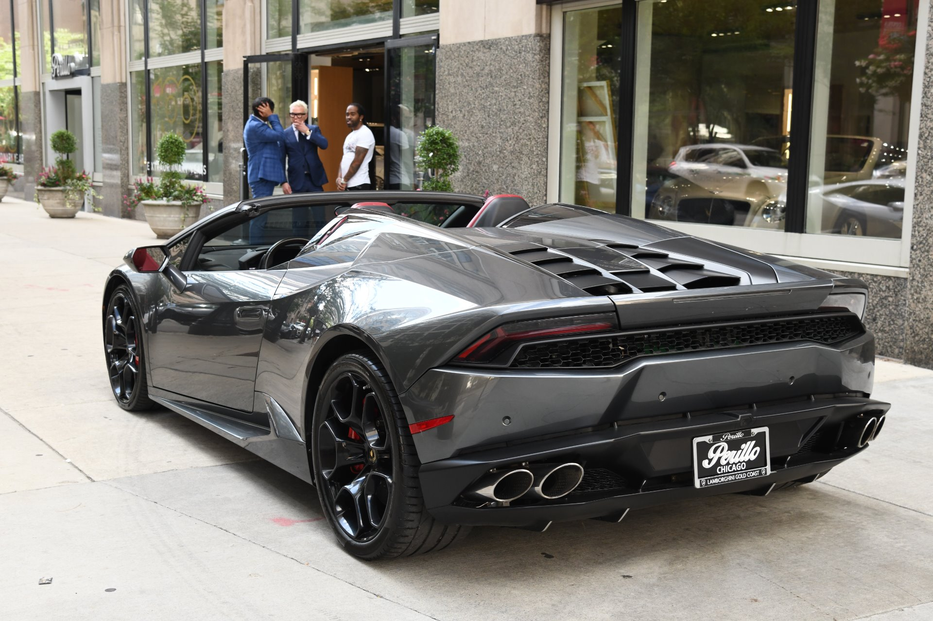 Used 2016 Lamborghini Huracan Spyder LP 610-4 Spyder  Certified Pre-Owned | Chicago, IL