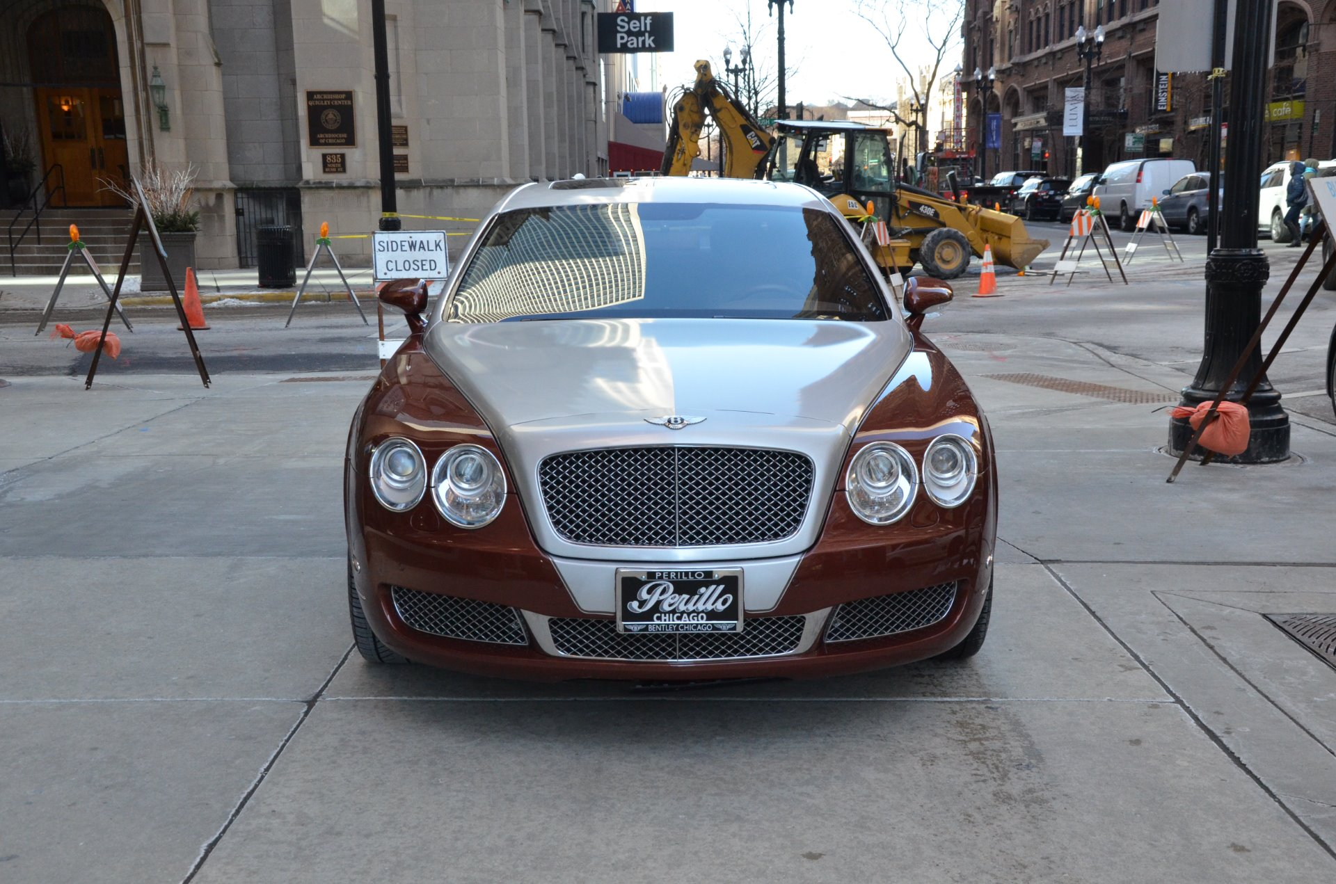 2007 bentley continental flying spur stock r198aa for sale near chicago il il bentley dealer. Black Bedroom Furniture Sets. Home Design Ideas