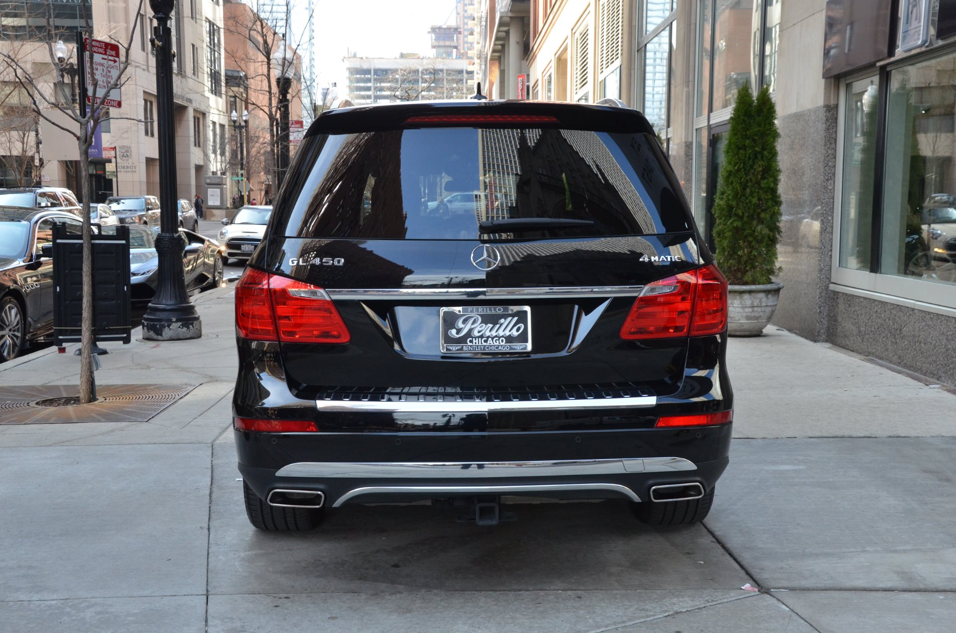 2015 mercedes benz gl class gl450 4matic stock l211ab for Mercedes benz parts chicago