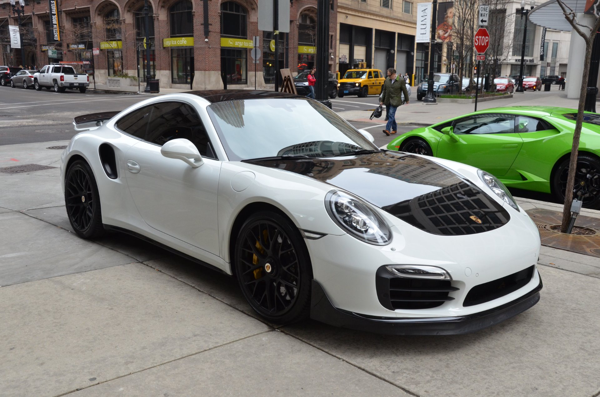 2015 porsche 911 turbo s stock 66520 for sale near chicago il il porsche dealer. Black Bedroom Furniture Sets. Home Design Ideas