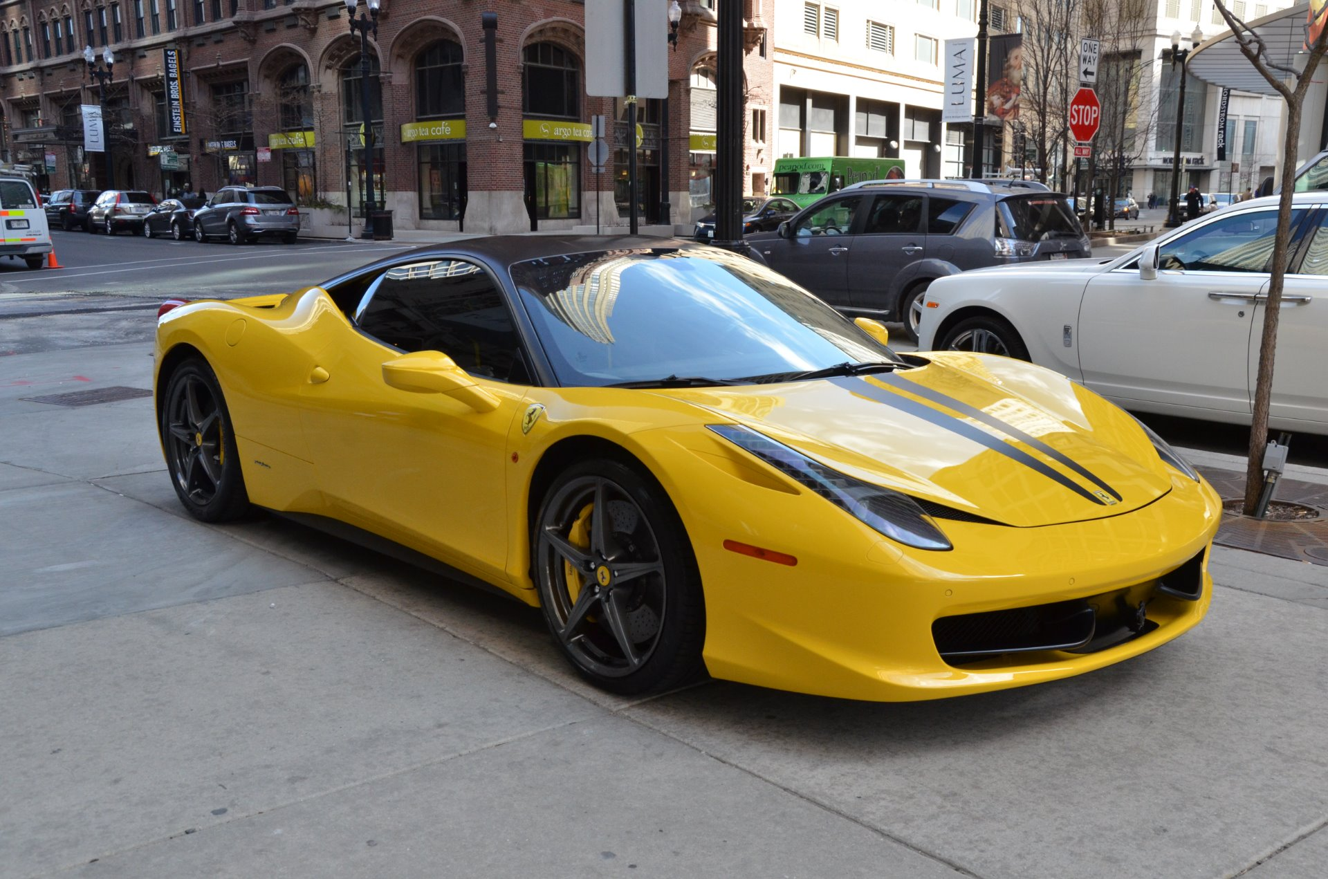 2010 ferrari 458 italia stock l280a for sale near chicago il il ferrari dealer. Black Bedroom Furniture Sets. Home Design Ideas