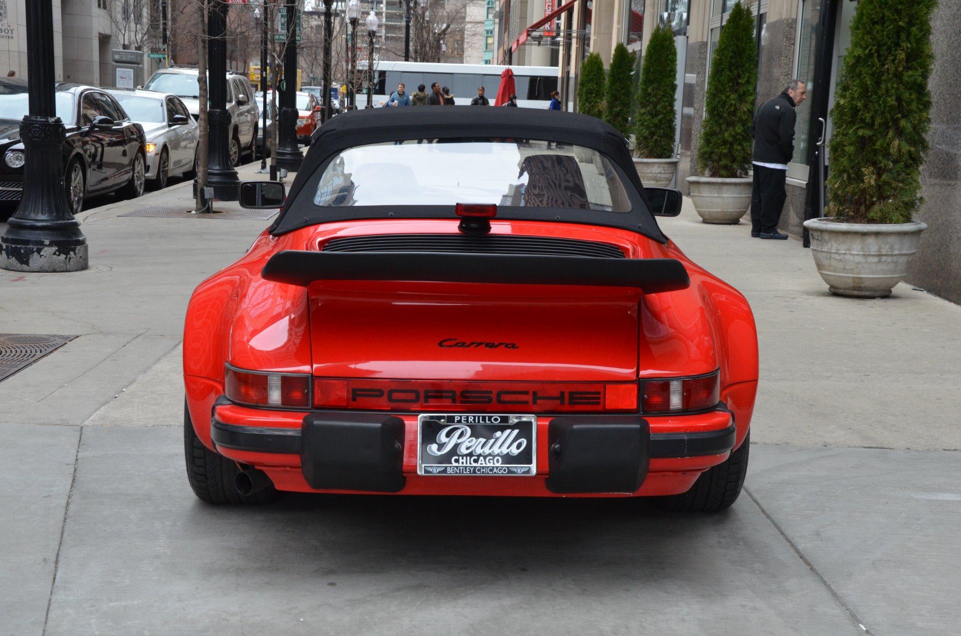 1986 porsche 911 carrera stock gc1908 for sale near chicago il il porsche dealer. Black Bedroom Furniture Sets. Home Design Ideas