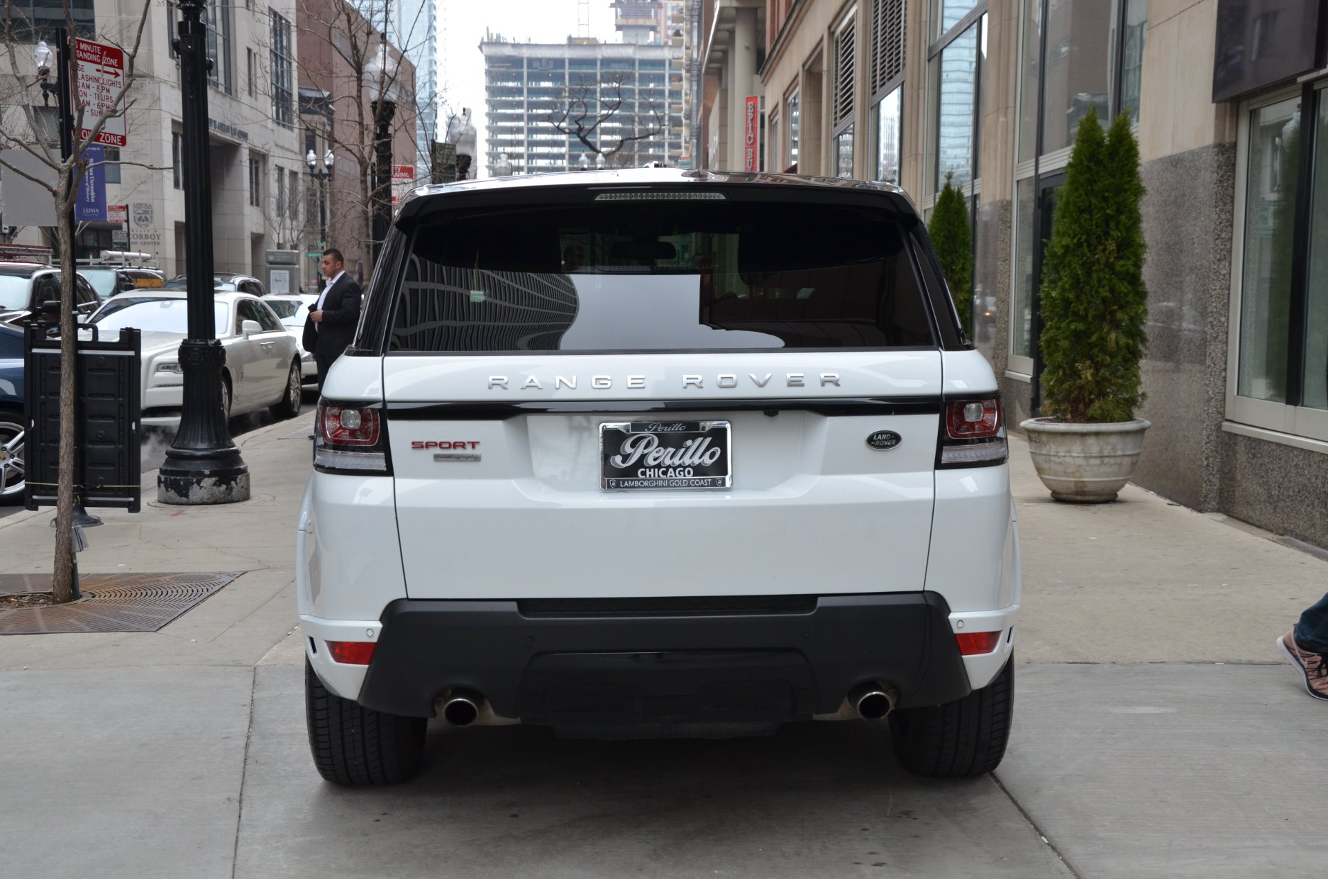 2015 land rover range rover sport autobiography stock gc1804a for sale near chicago il il. Black Bedroom Furniture Sets. Home Design Ideas