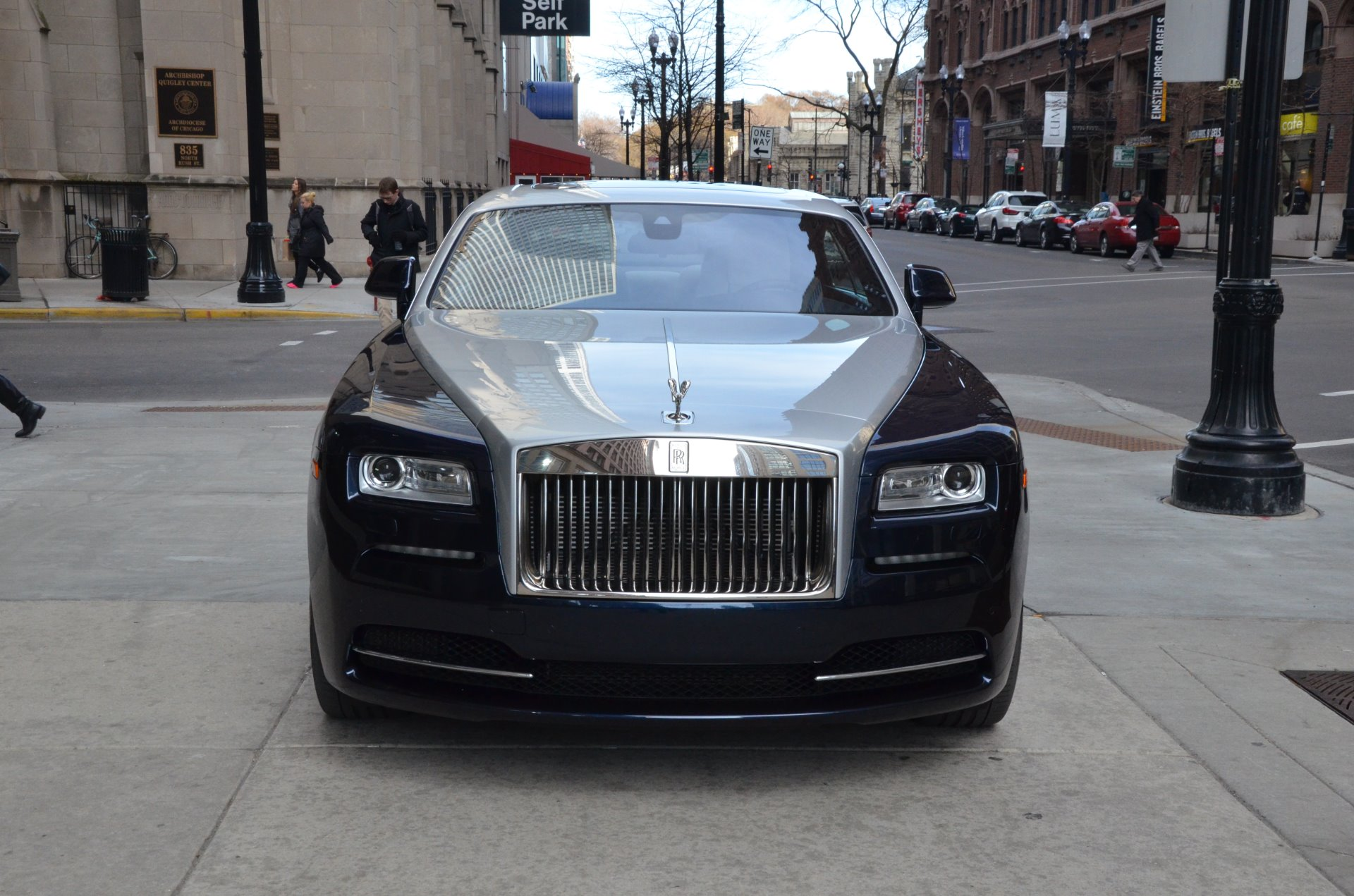 2014 rolls royce wraith stock r244a for sale near chicago il il rolls royce dealer. Black Bedroom Furniture Sets. Home Design Ideas