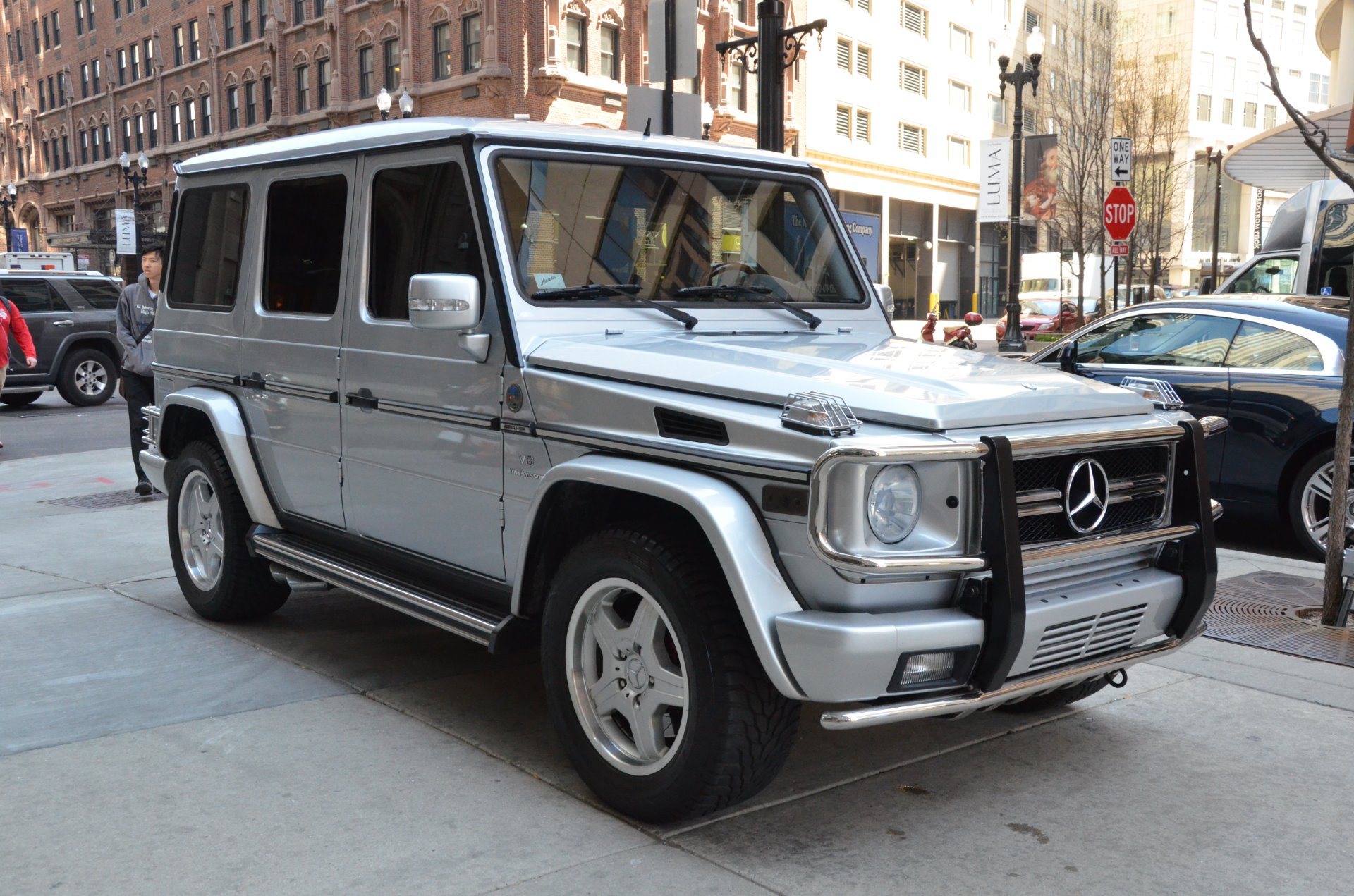 2005 mercedes benz g class g55 amg stock gc1841ab for for Mercedes benz g class g55 amg for sale
