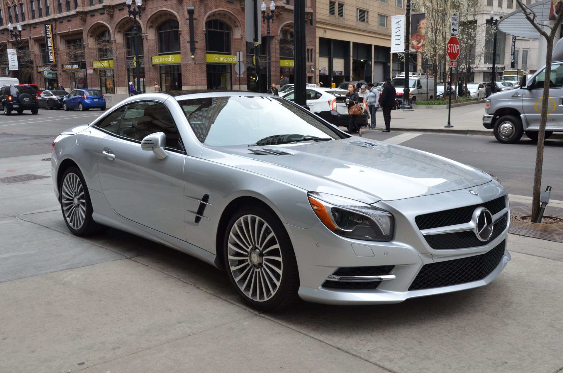2015 mercedes benz sl class sl550 stock 36397 for sale near chicago il il mercedes benz dealer. Black Bedroom Furniture Sets. Home Design Ideas