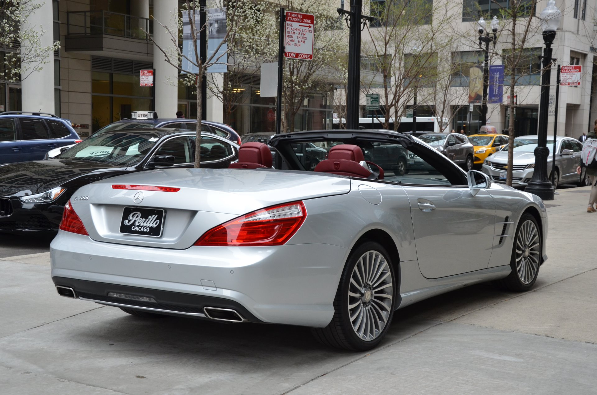 2015 mercedes benz sl class sl550 stock 36397 for sale for Mercedes benz chicago dealers