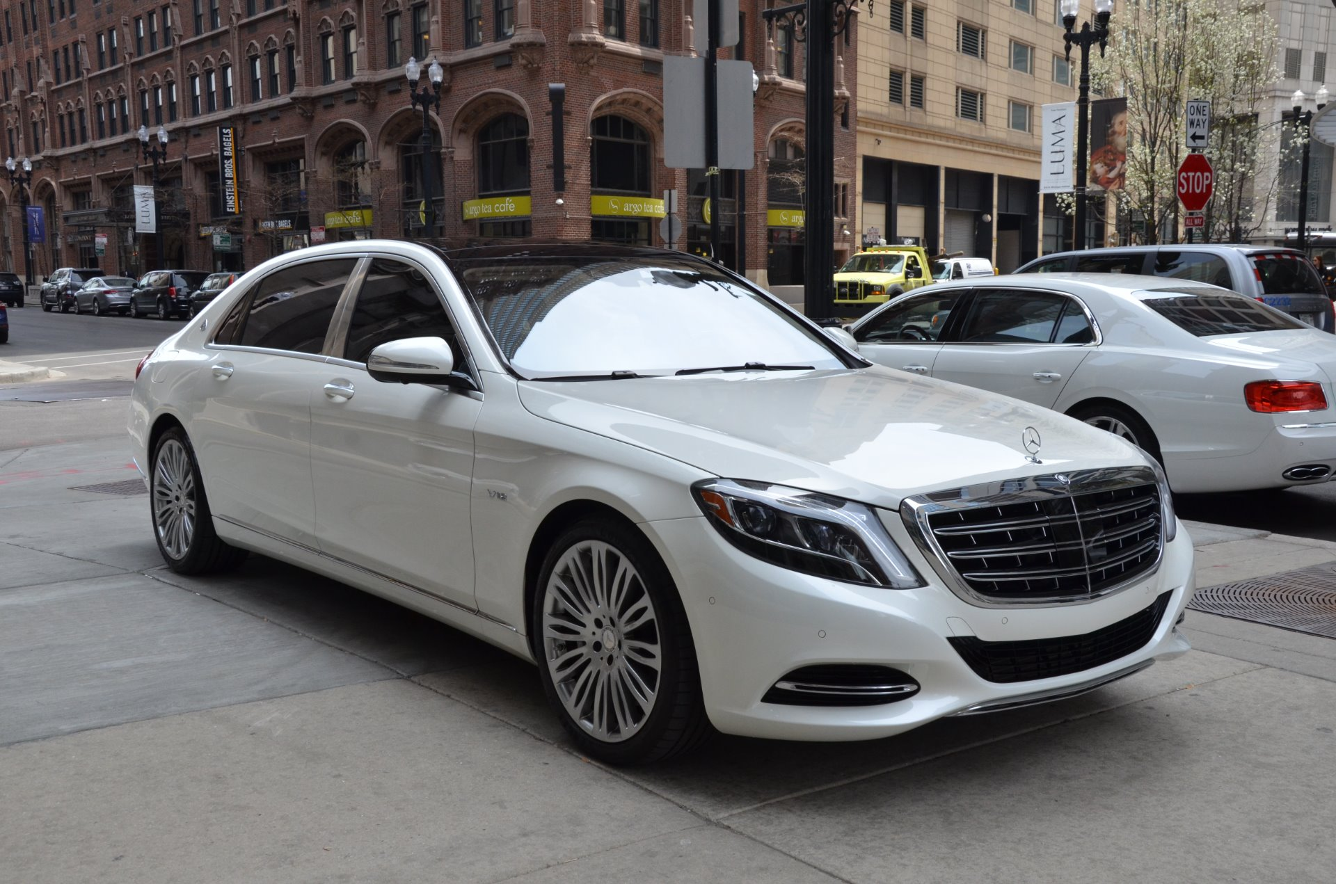 2016 mercedes benz s class mercedes maybach s600 stock 76032 for sale near chicago il il. Black Bedroom Furniture Sets. Home Design Ideas