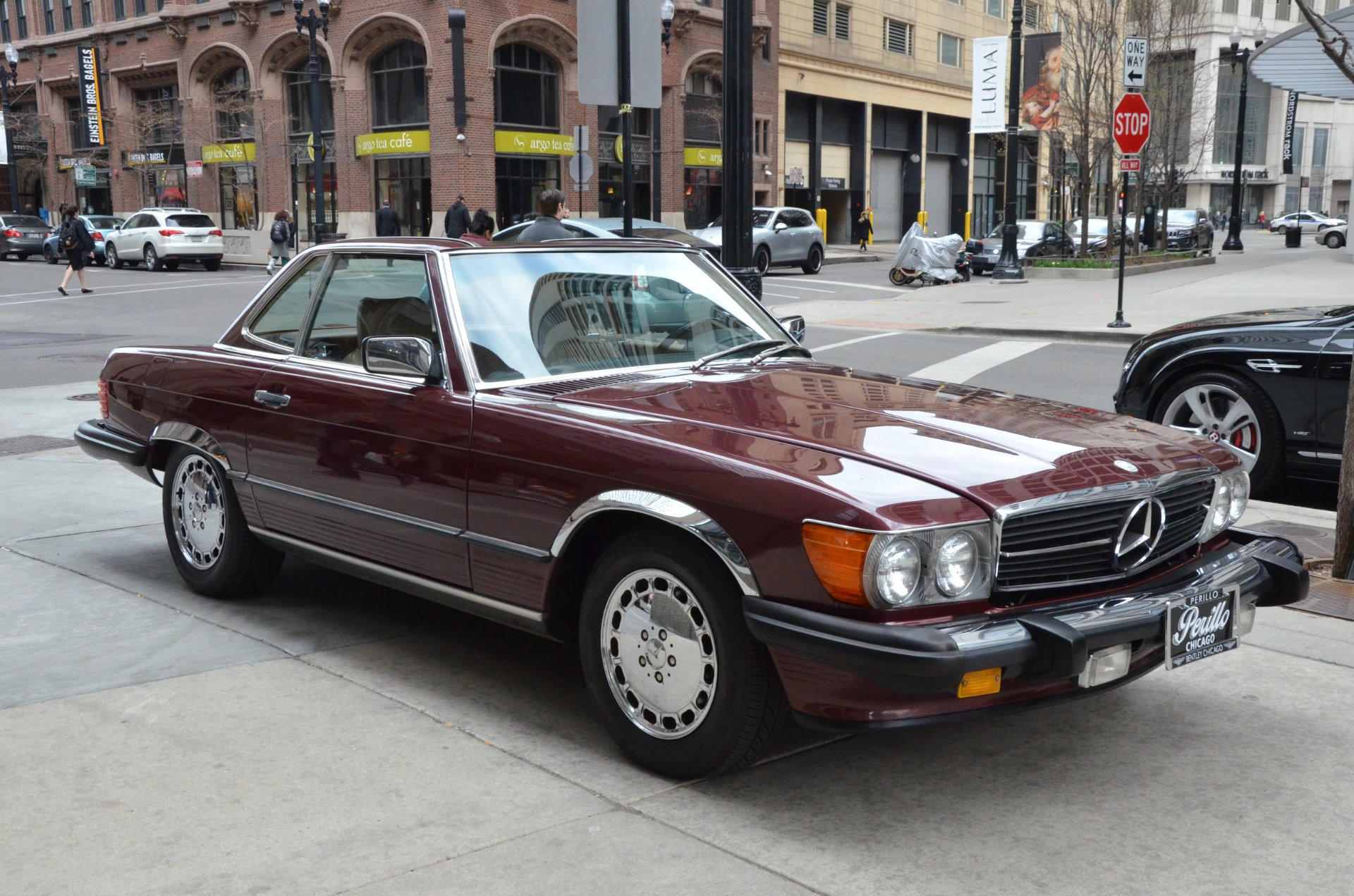 1986 mercedes benz 560 class 560sl stock l293a for sale for Chicagoland mercedes benz dealers