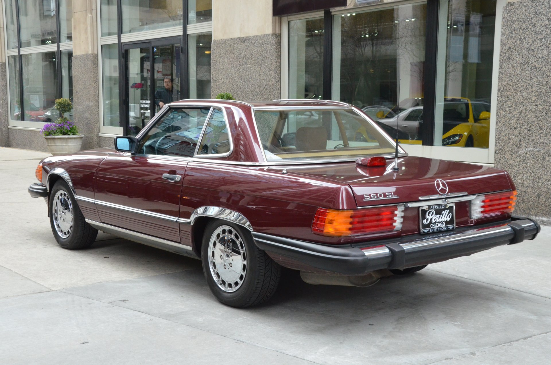 1986 mercedes benz 560 class 560sl stock l293a for sale for Mercedes benz chicago dealers