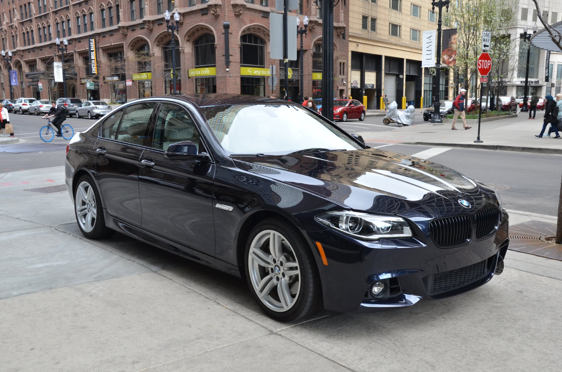2015 bmw 5 series 535i xdrive stock # 40248 for  near chicago
